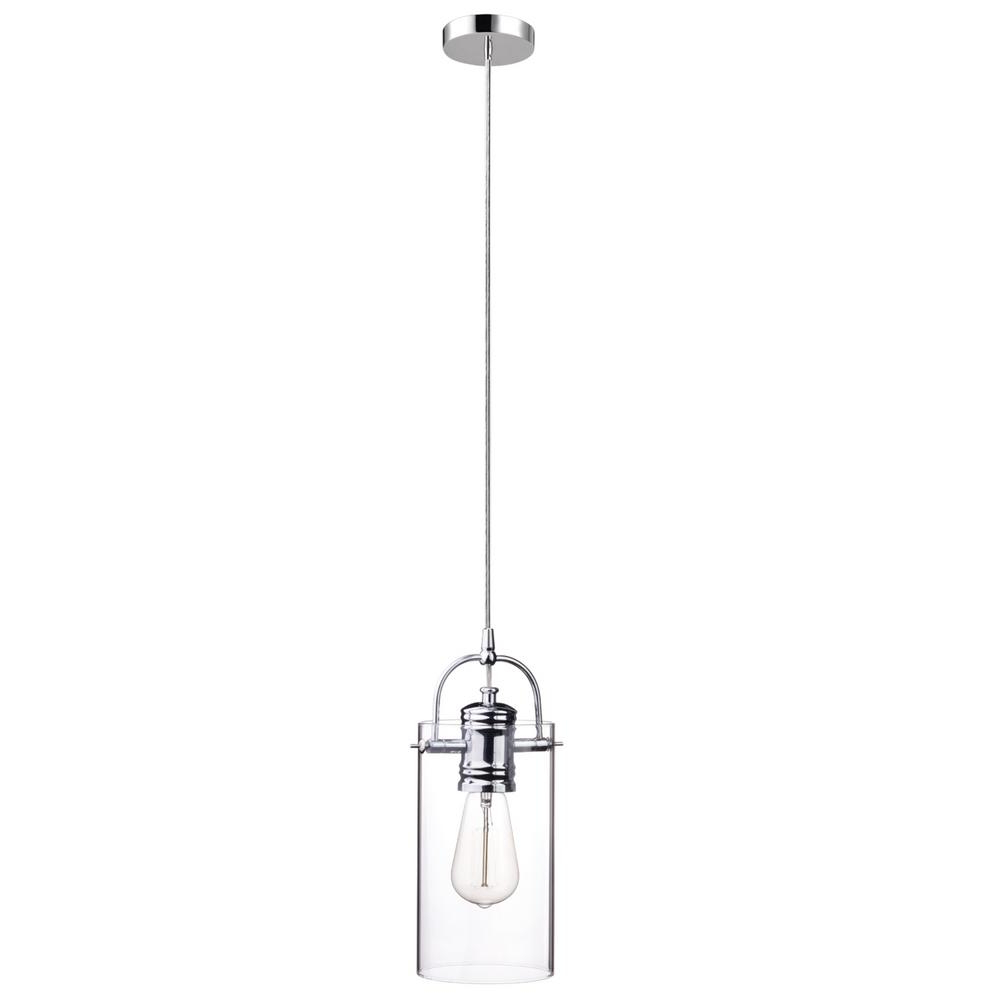 Prange 1 Light Single Globe Pendants With Most Current Globe Electric James 1 Light Chrome Pendant (Gallery 20 of 20)