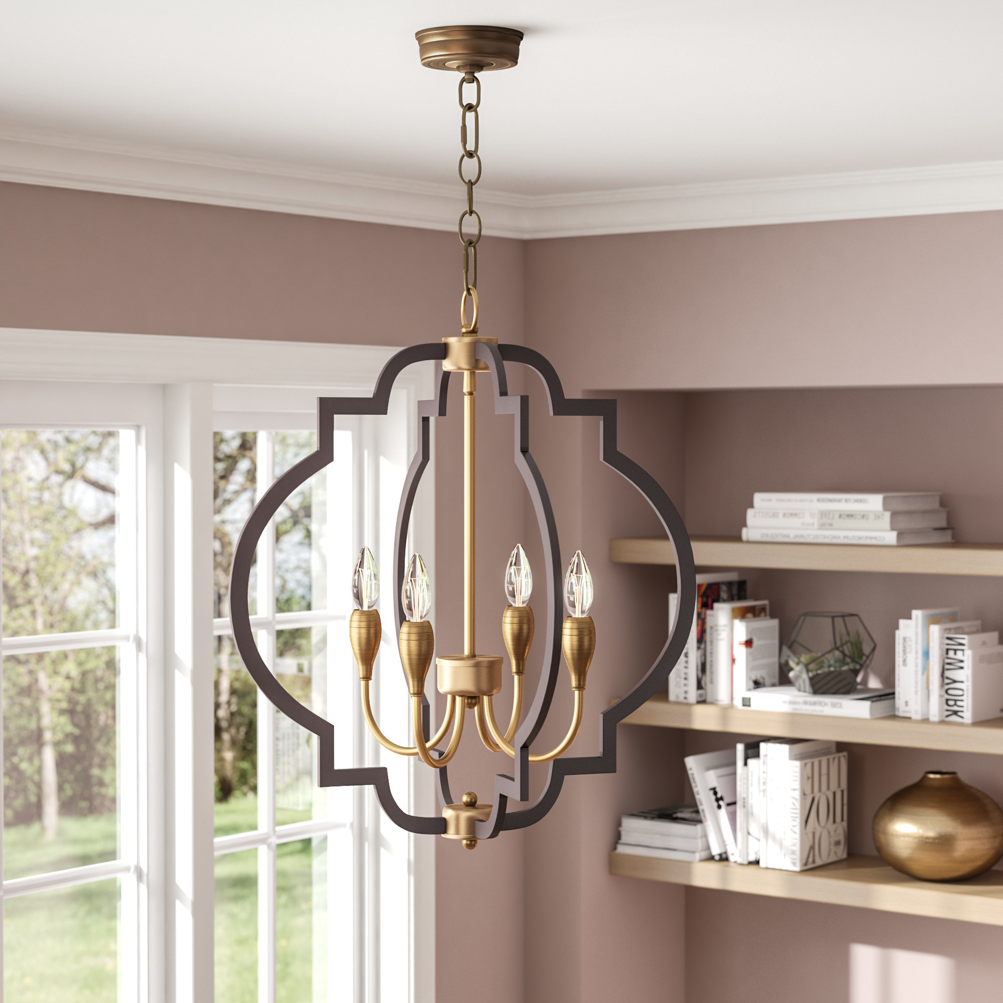 Preferred Astin 4 Light Geometric Chandelier Intended For Reidar 4 Light Geometric Chandeliers (Gallery 7 of 20)