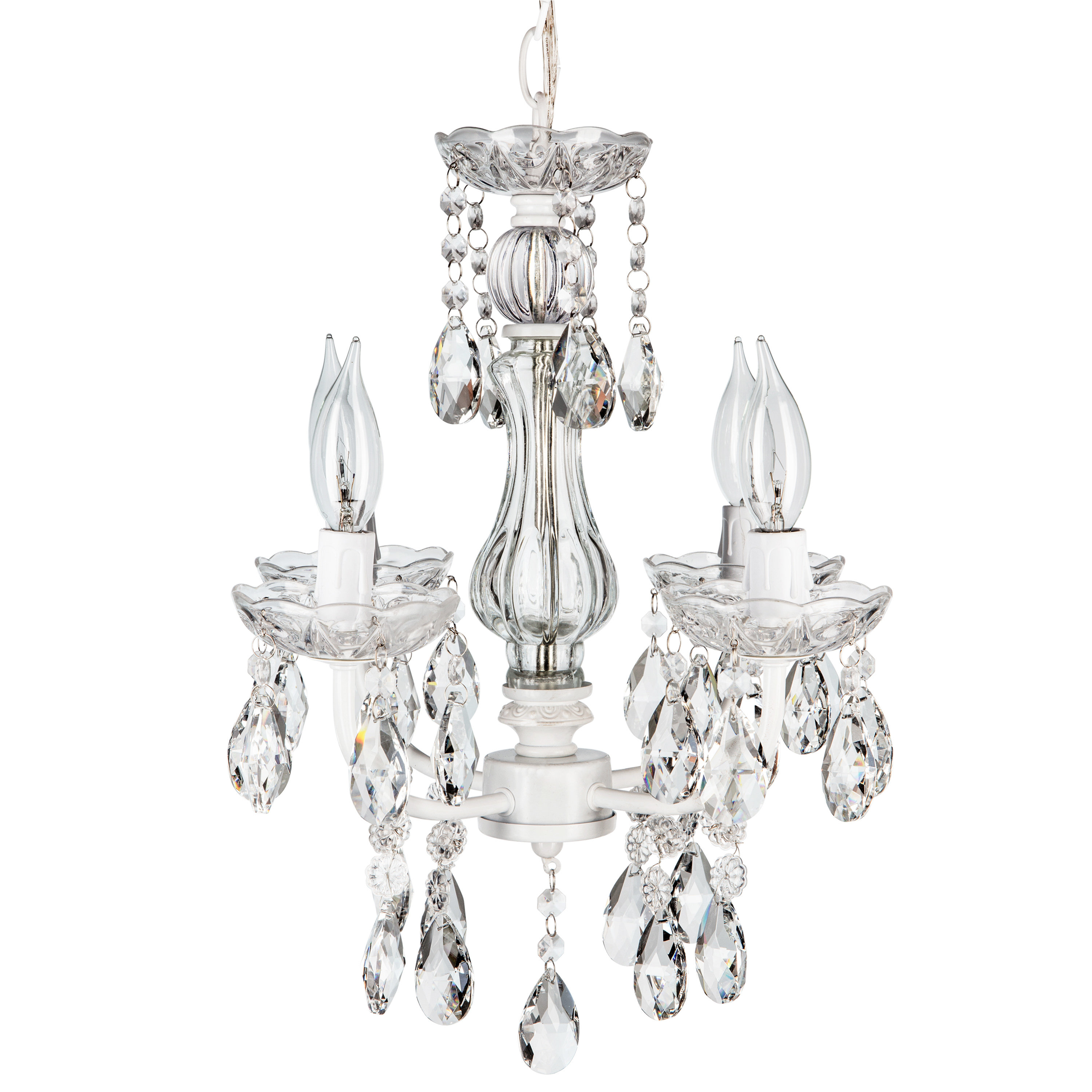 Preferred Astoria Grand Blanchette White 4 Light Candle Style In Blanchette 5 Light Candle Style Chandeliers (View 9 of 20)