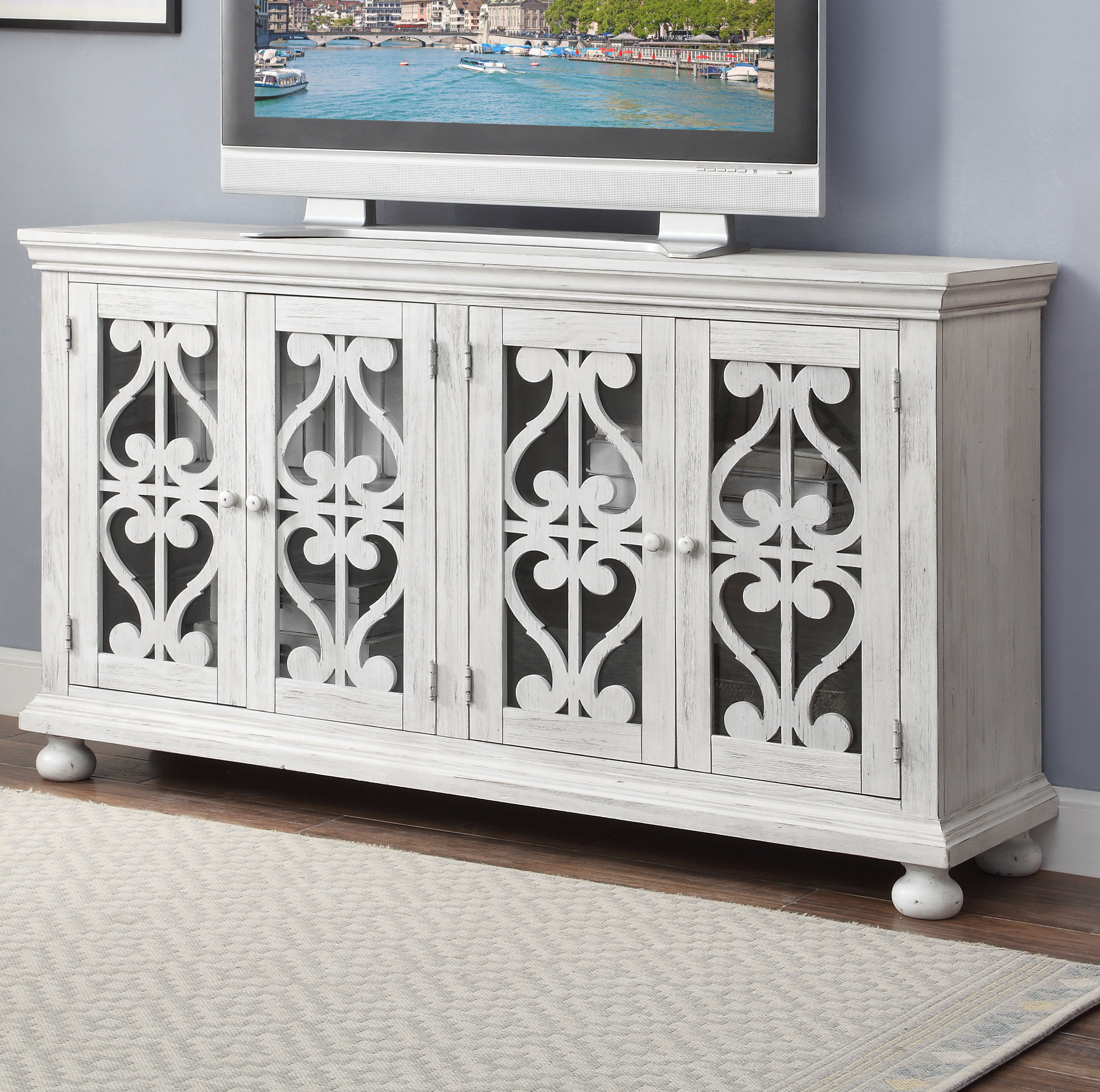 Preferred Caigan Credenza With Tott And Eling Sideboards (View 10 of 20)