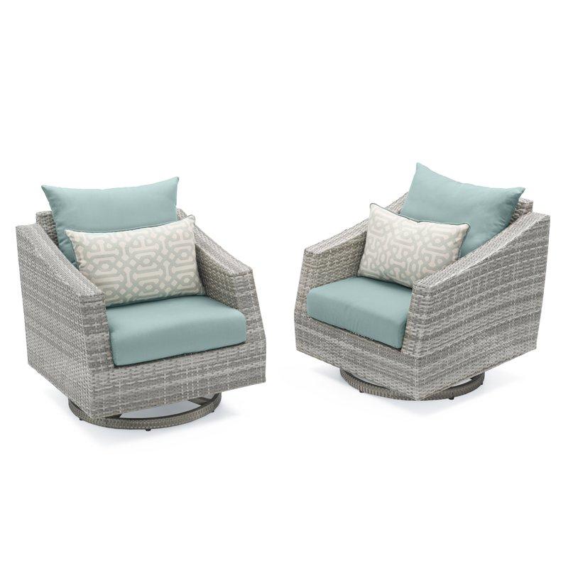 Preferred Castelli Patio Sofas With Sunbrella Cushions Intended For Castelli Swivel Patio Chair With Sunbrella Cushions (Gallery 14 of 20)