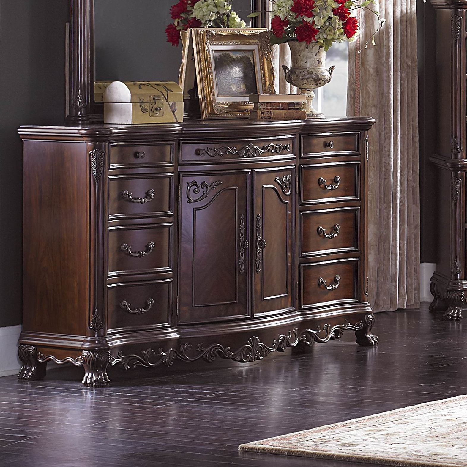Preferred Chalus 9 Drawer Combo Dresser Within Chalus Sideboards (Gallery 4 of 20)