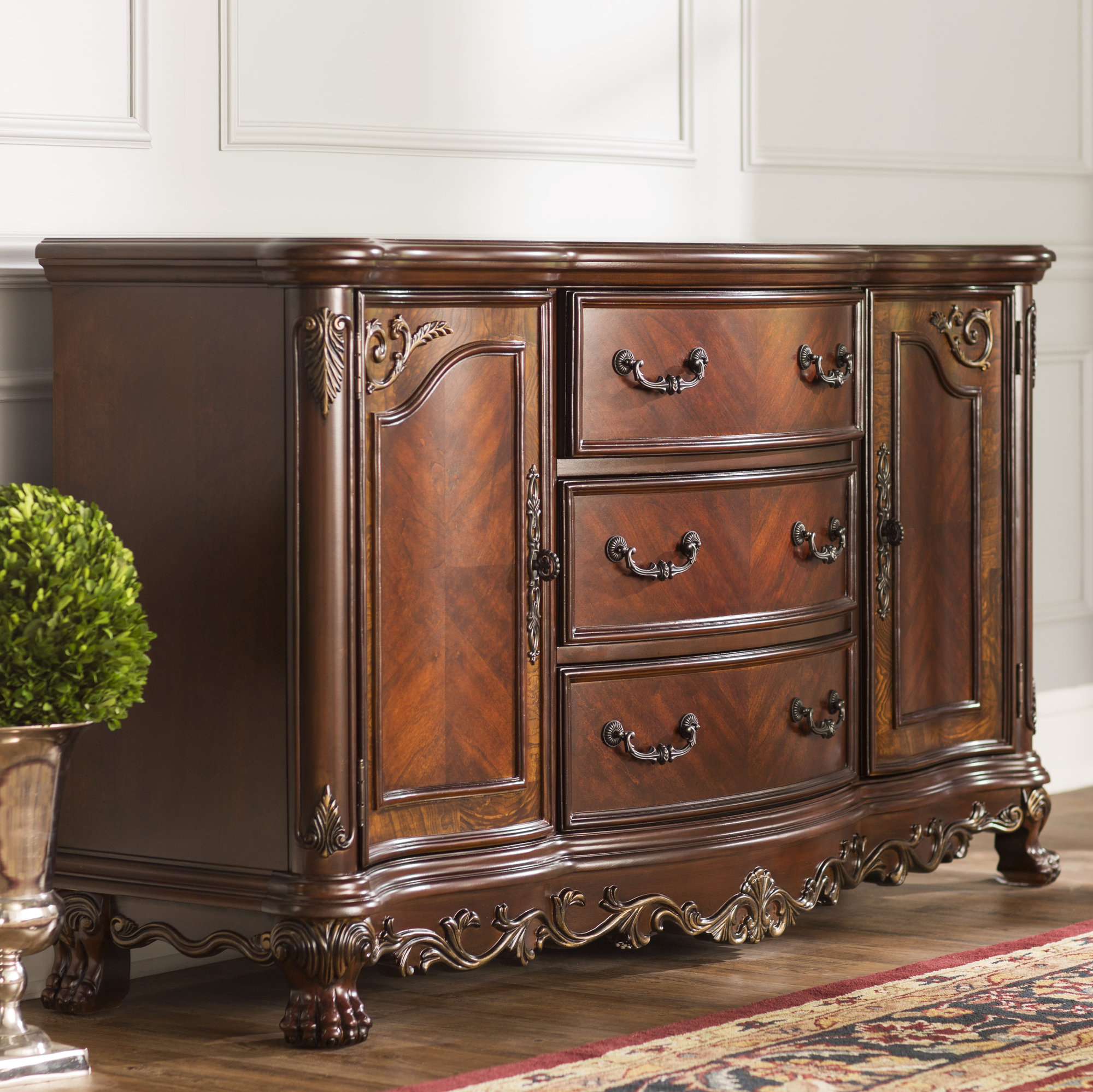 Preferred Details About Astoria Grand Chalus Sideboard With Regard To Hayslett Sideboards (View 13 of 20)