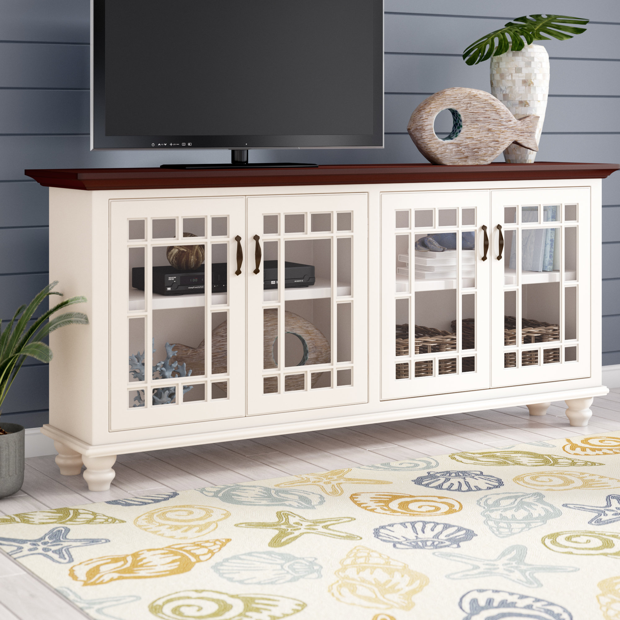 Preferred Farmhouse & Rustic Rosecliff Heights Tv Stands (View 6 of 20)
