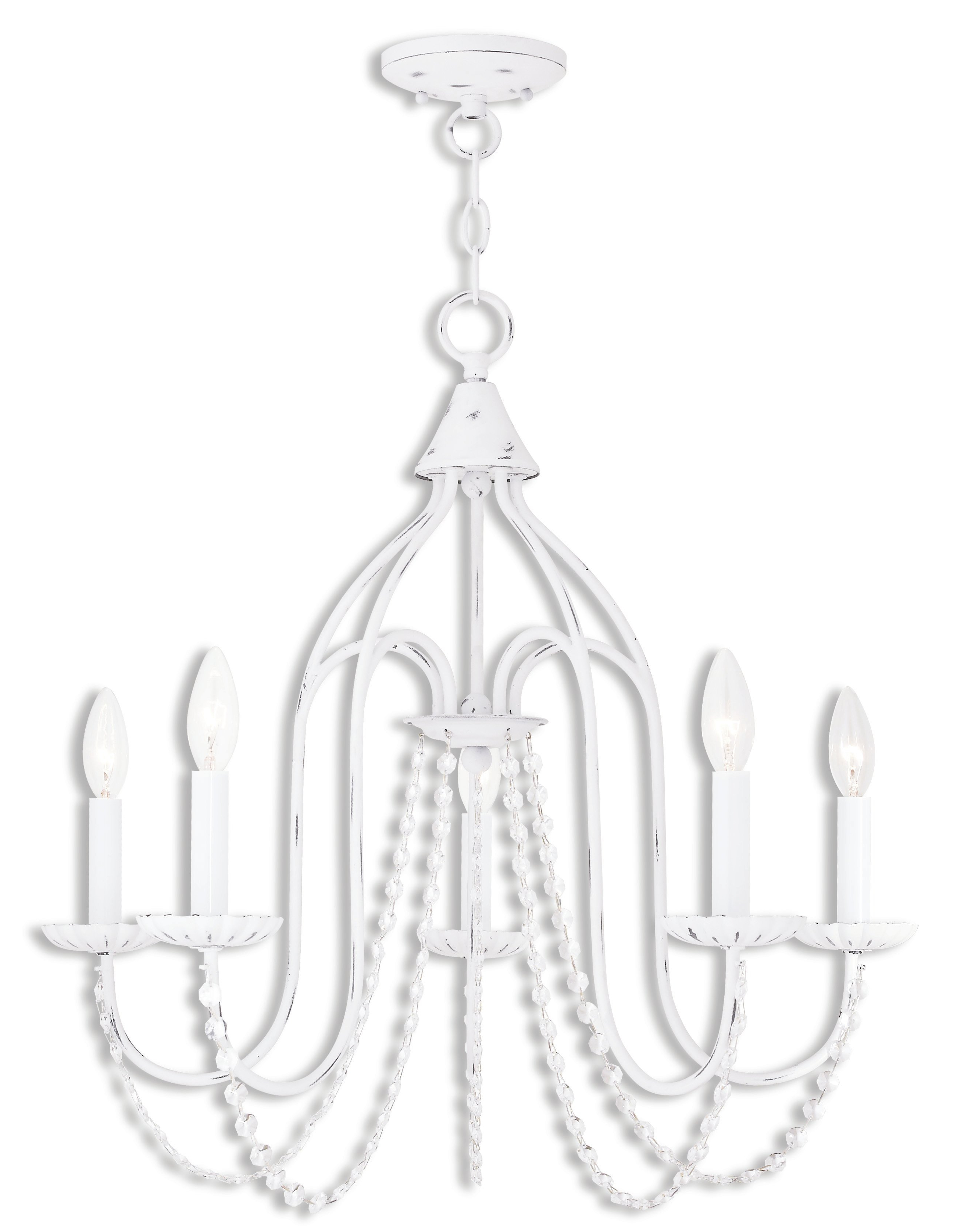 Preferred Florentina 5 Light Candle Style Chandeliers Intended For Florentina 5 Light Candle Style Chandelier (View 16 of 20)
