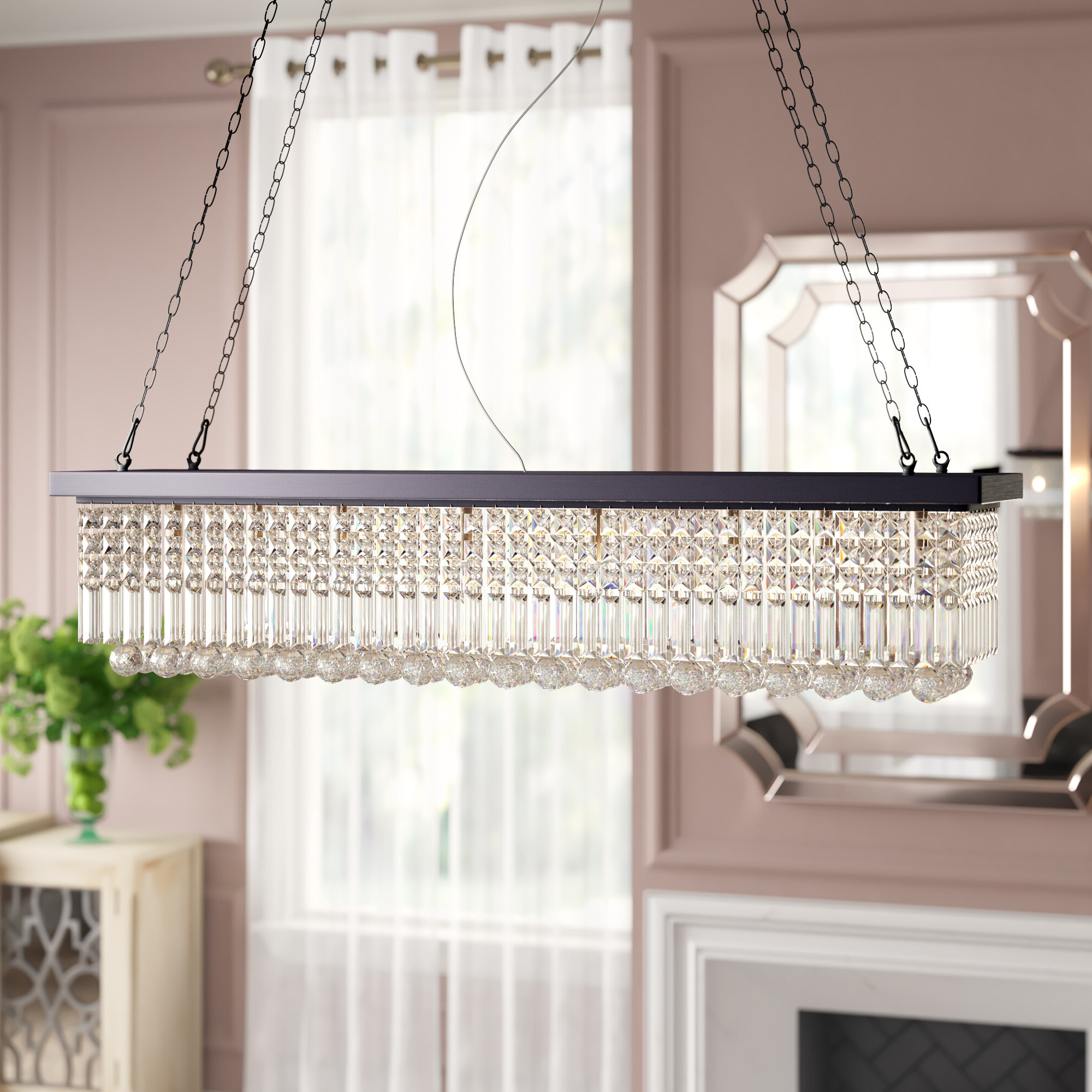 Preferred Gracelyn 8 Light Kitchen Island Pendant Regarding Gracelyn 8 Light Kitchen Island Pendants (View 16 of 20)