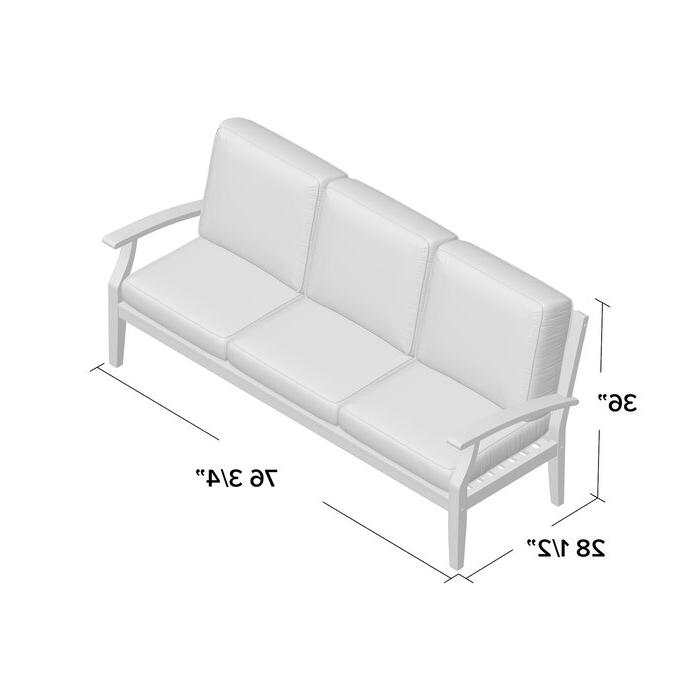 Preferred Hursey Patio Sofa Pertaining To Hursey Patio Sectionals (Gallery 4 of 20)