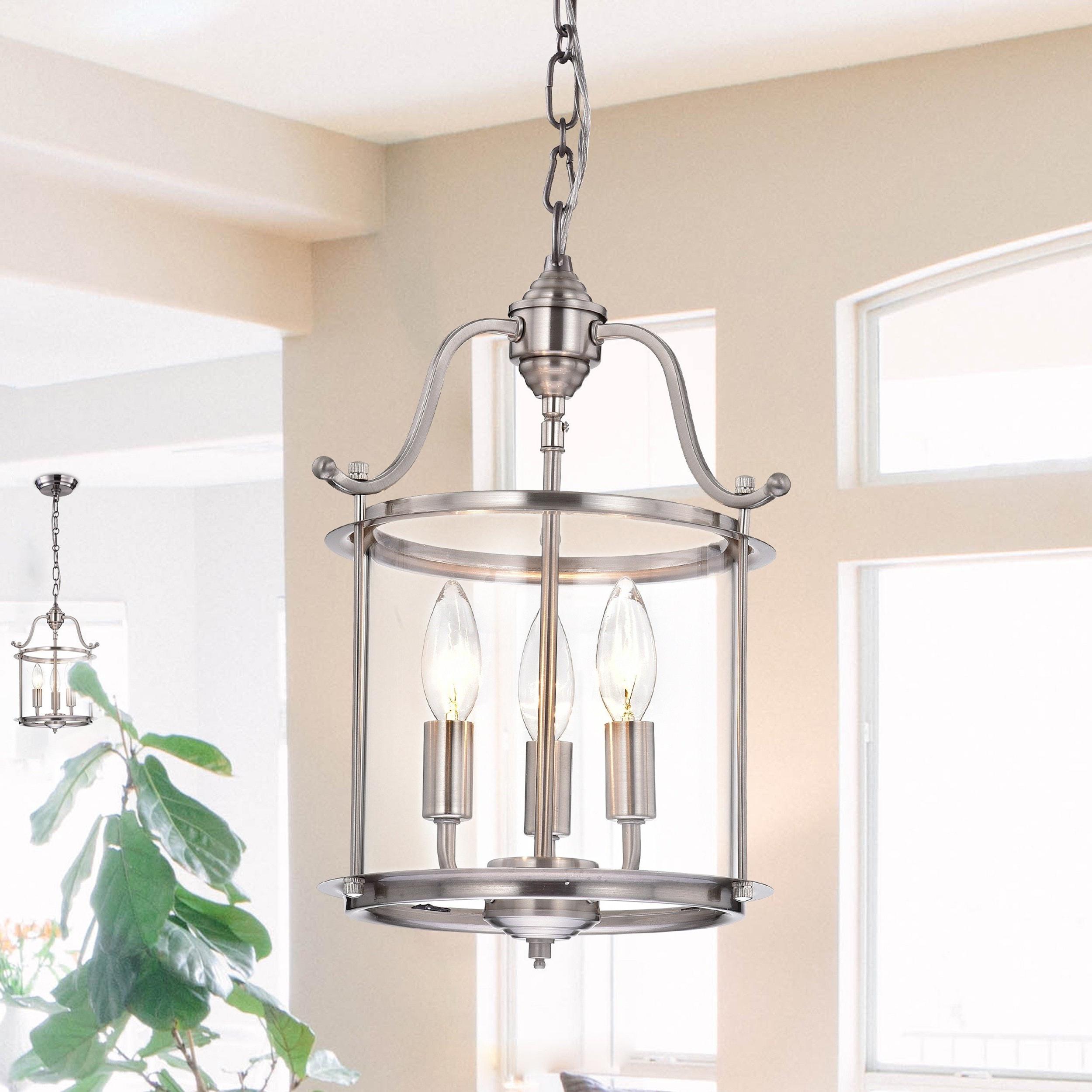 Preferred Labarge 3 Light Lantern Cylinder Pendant Pertaining To 3 Light Lantern Cylinder Pendants (View 19 of 20)