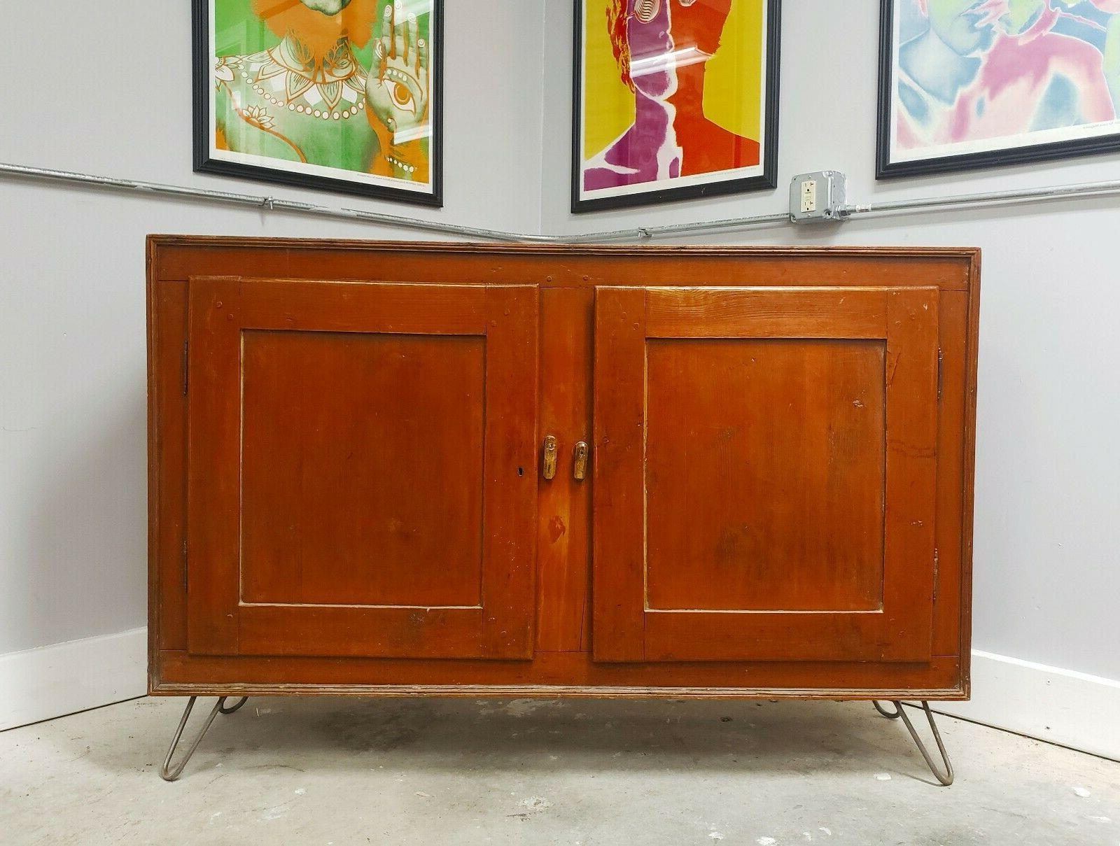 Preferred Lowrey Credenzas Regarding Antique 18Th Century Commode Sideboard Credenza Rustic Cabinet (View 18 of 20)
