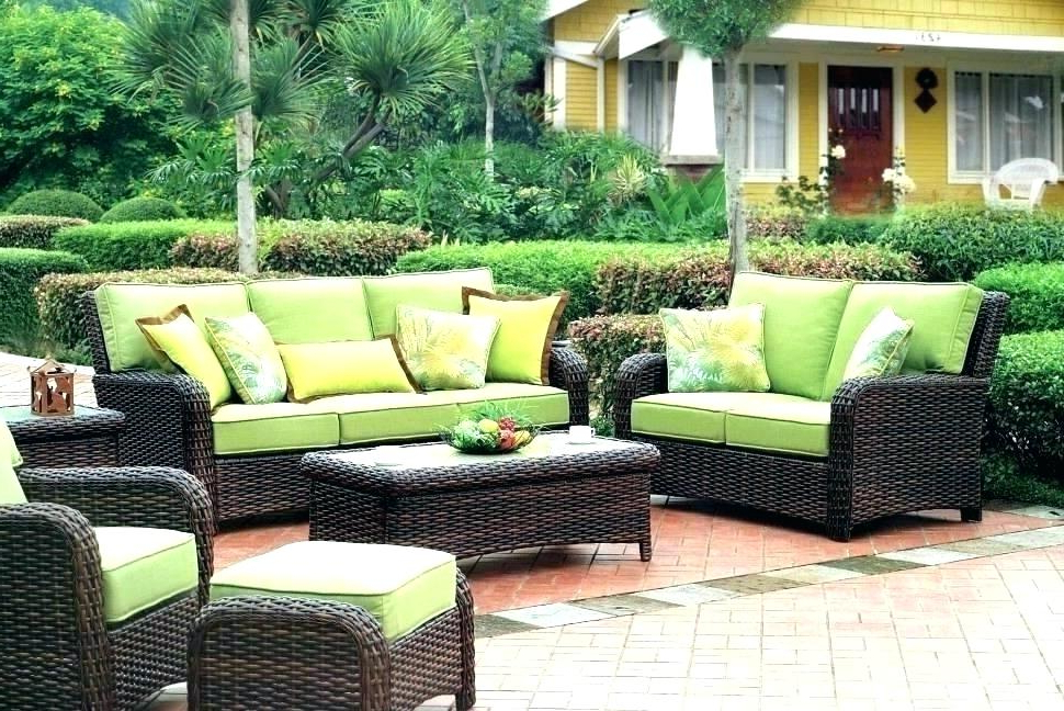Preferred Outdoor Patio Cushion Covers – Woodland Church With Regard To Patio Sofas With Cushions (View 15 of 20)