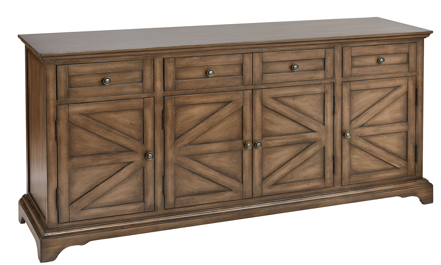 Preferred Pannell Farmhouse Wood Stain Sideboard Intended For Armelle Sideboards (View 19 of 20)