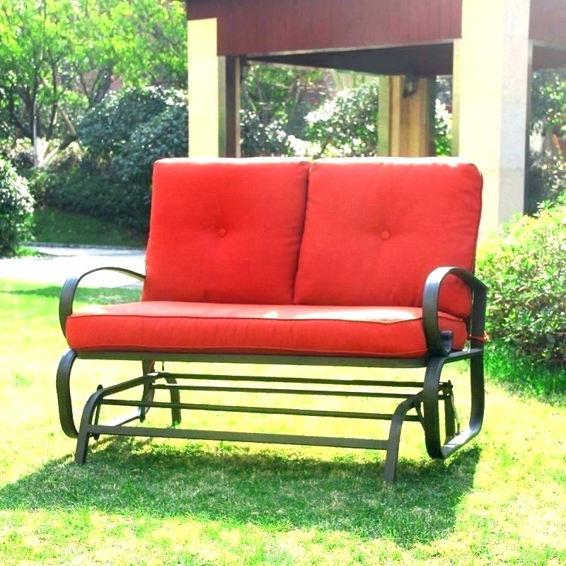 Preferred Prospect Hill Wicker Settee Benches In All Weather Wicker Glider – Klonq (View 11 of 20)