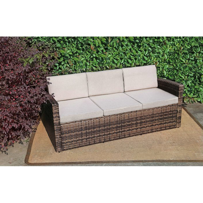 Preferred Silloth Patio Sofas With Cushions With Regard To Silloth Outdoor Pool Garden Patio Sofa With Cushions (View 8 of 20)