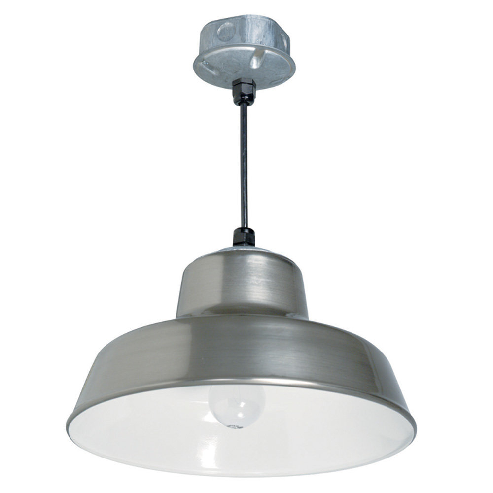 Preferred Skyla Hanging Reflector 1 Light Pendant Regarding Moyer 1 Light Single Cylinder Pendants (View 14 of 20)