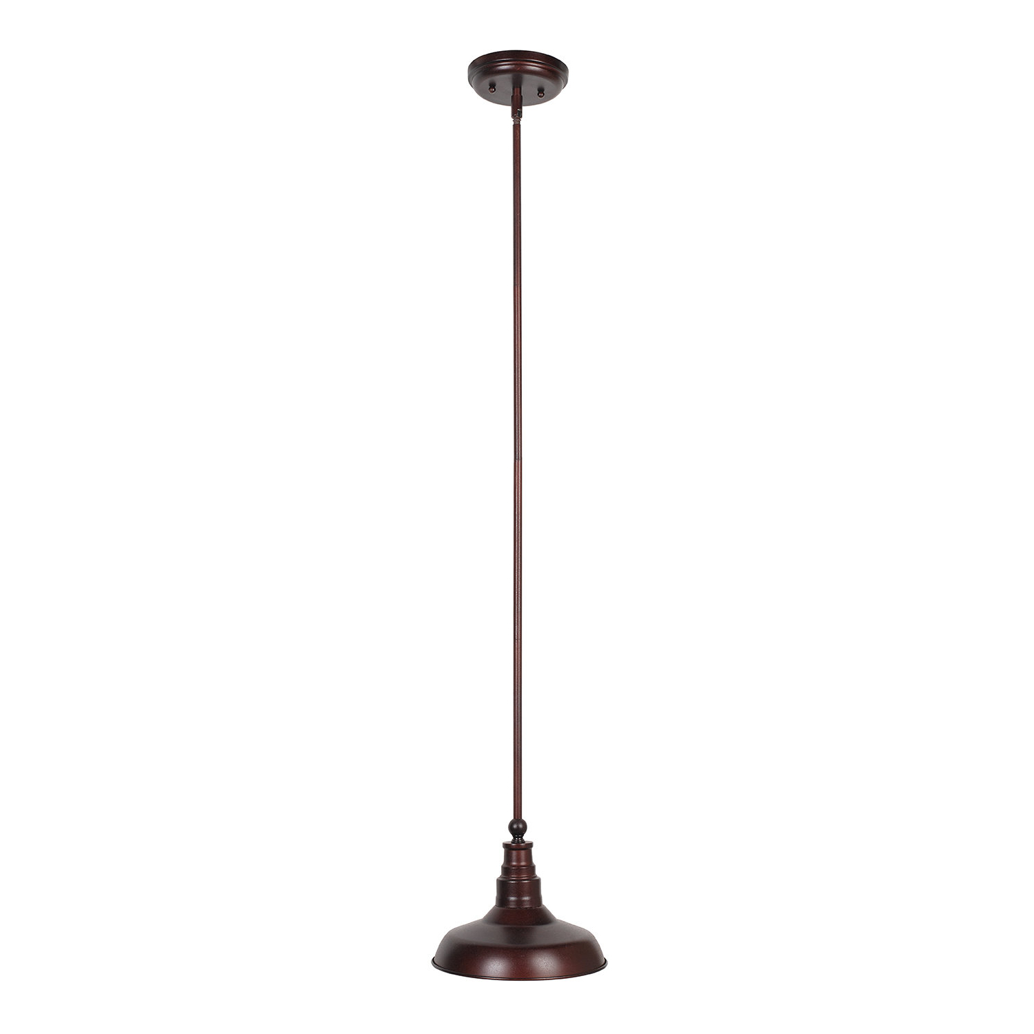 Preferred Stephine 1 Light Dome Pendant Within Gattis 1 Light Dome Pendants (View 18 of 20)
