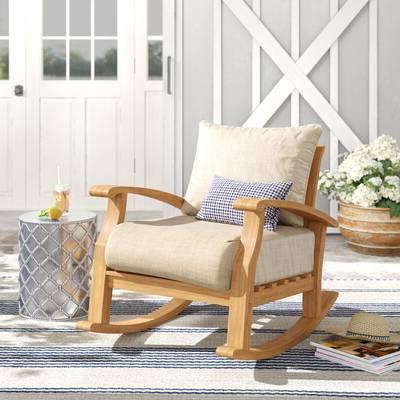 Preferred Summerton Teak Loveseats With Cushions Inside Summerton Teak Loveseat With Cushions (View 16 of 20)