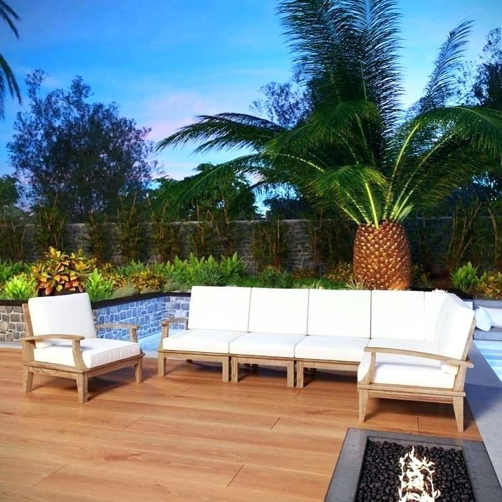 Preferred Teak Sectional Patio Furniture – Politicadaily (View 8 of 20)