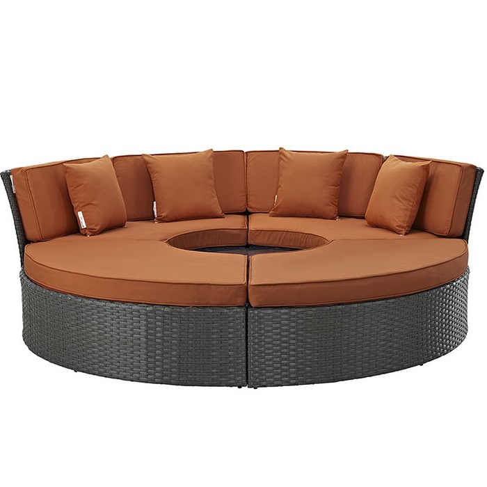 Preferred Tripp Daybed With Cushions Inside Tripp Patio Daybeds With Cushions (View 11 of 20)