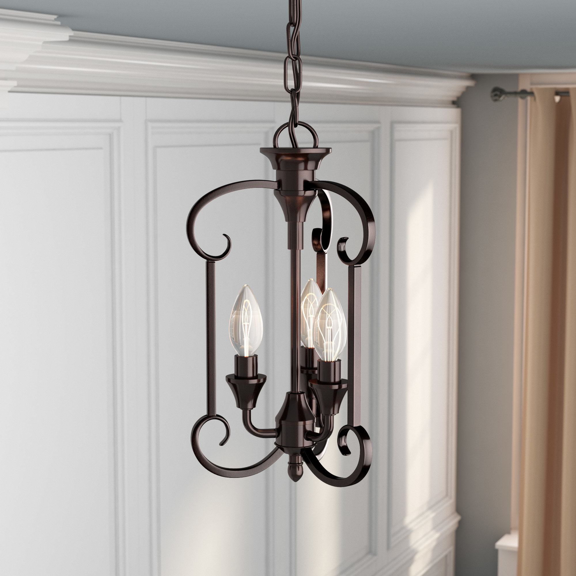 Preferred Warner Robins 3 Light Lantern Pendants Regarding Warner Robins 3 Light Lantern Pendant (Gallery 1 of 20)