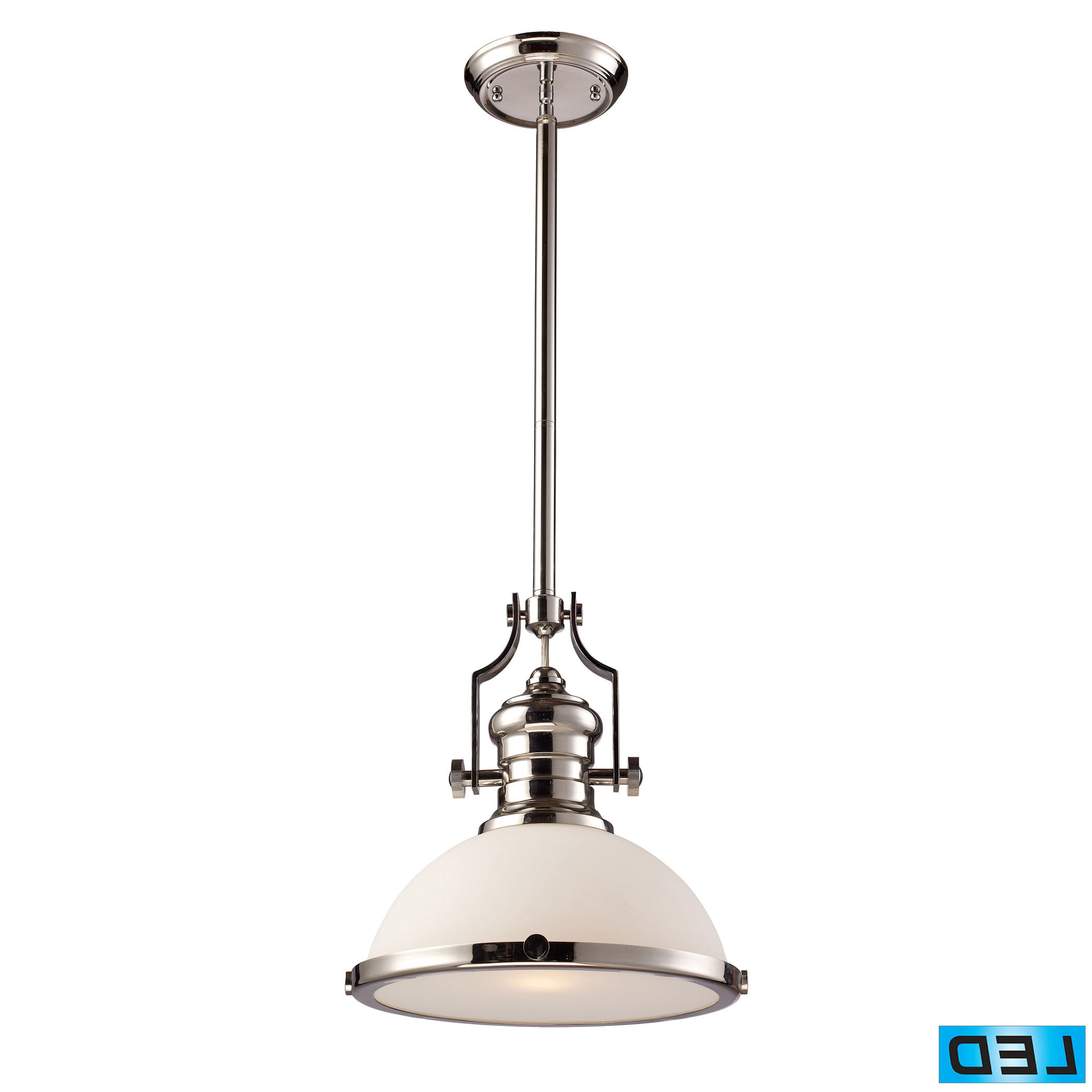 Priston 1 Light Single Dome Pendant For Well Liked Priston 1 Light Single Dome Pendants (View 8 of 20)