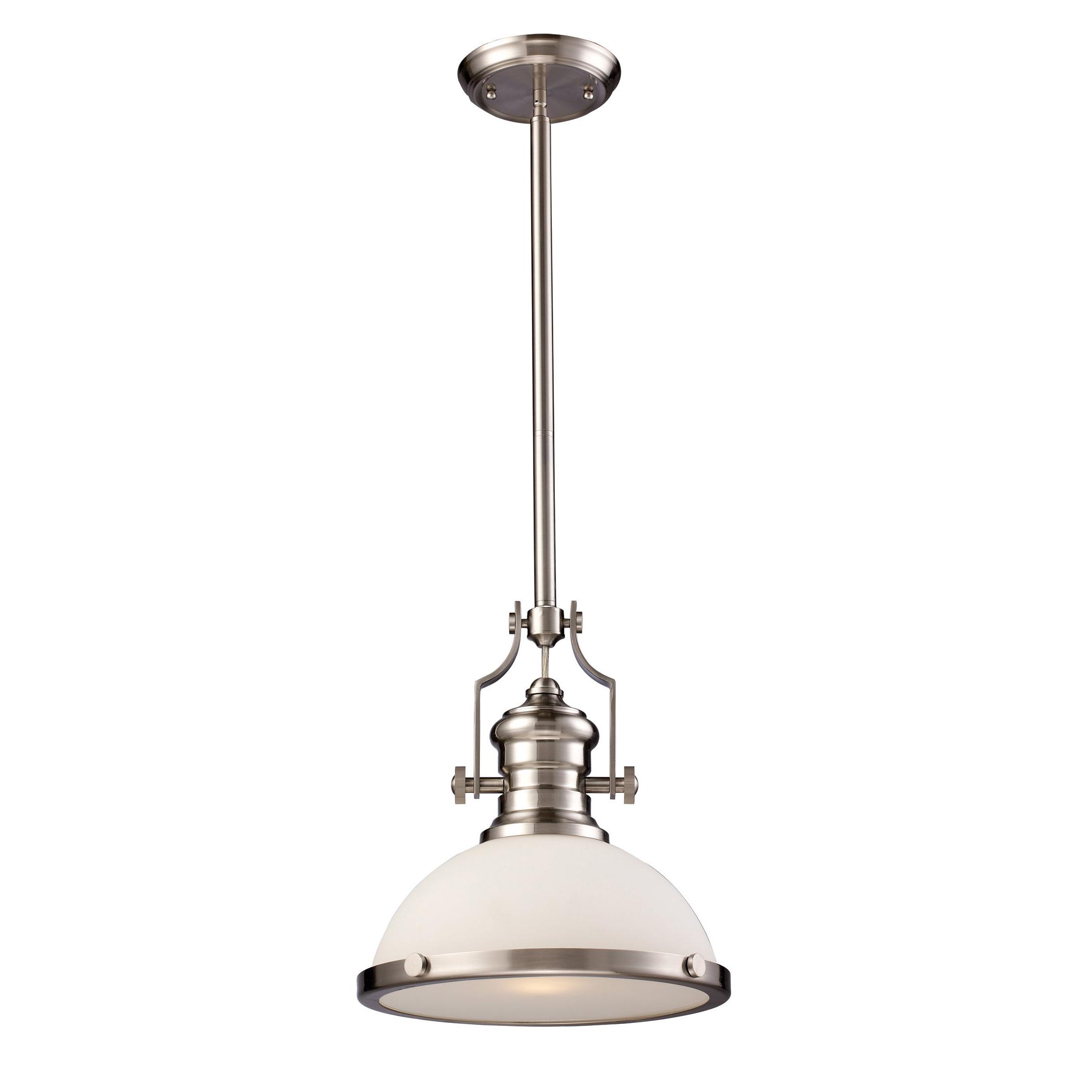 Proctor 1 Light Bowl Pendants Intended For Trendy Proctor 1 Light Bowl Pendant (Gallery 2 of 20)