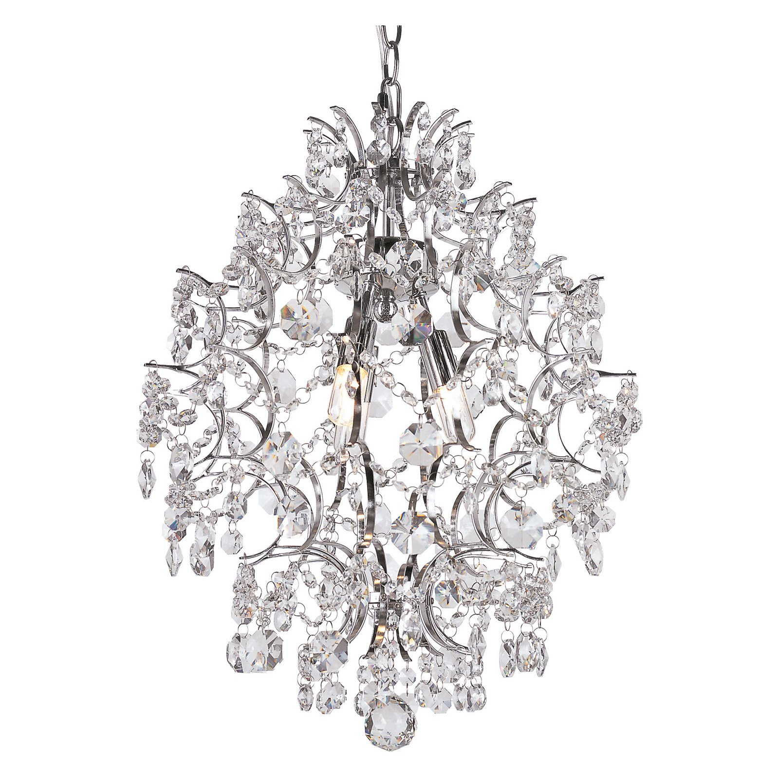 Products Regarding 2020 Clea 3 Light Crystal Chandeliers (View 9 of 20)