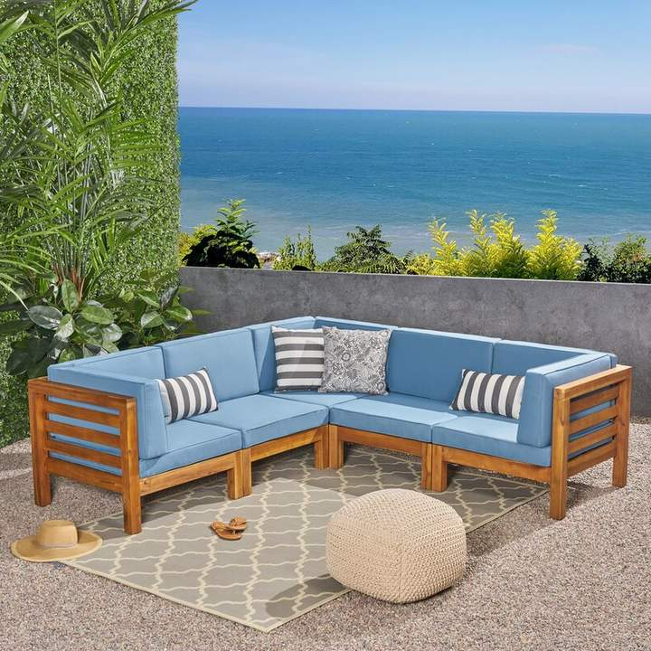 Products Throughout Seaham Patio Sectionals With Cushions (View 9 of 20)