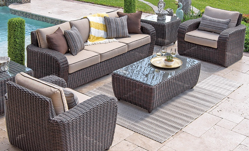 Quality Outdoor Furniture Intended For 2020 Patio Sofas With Cushions (Gallery 14 of 20)