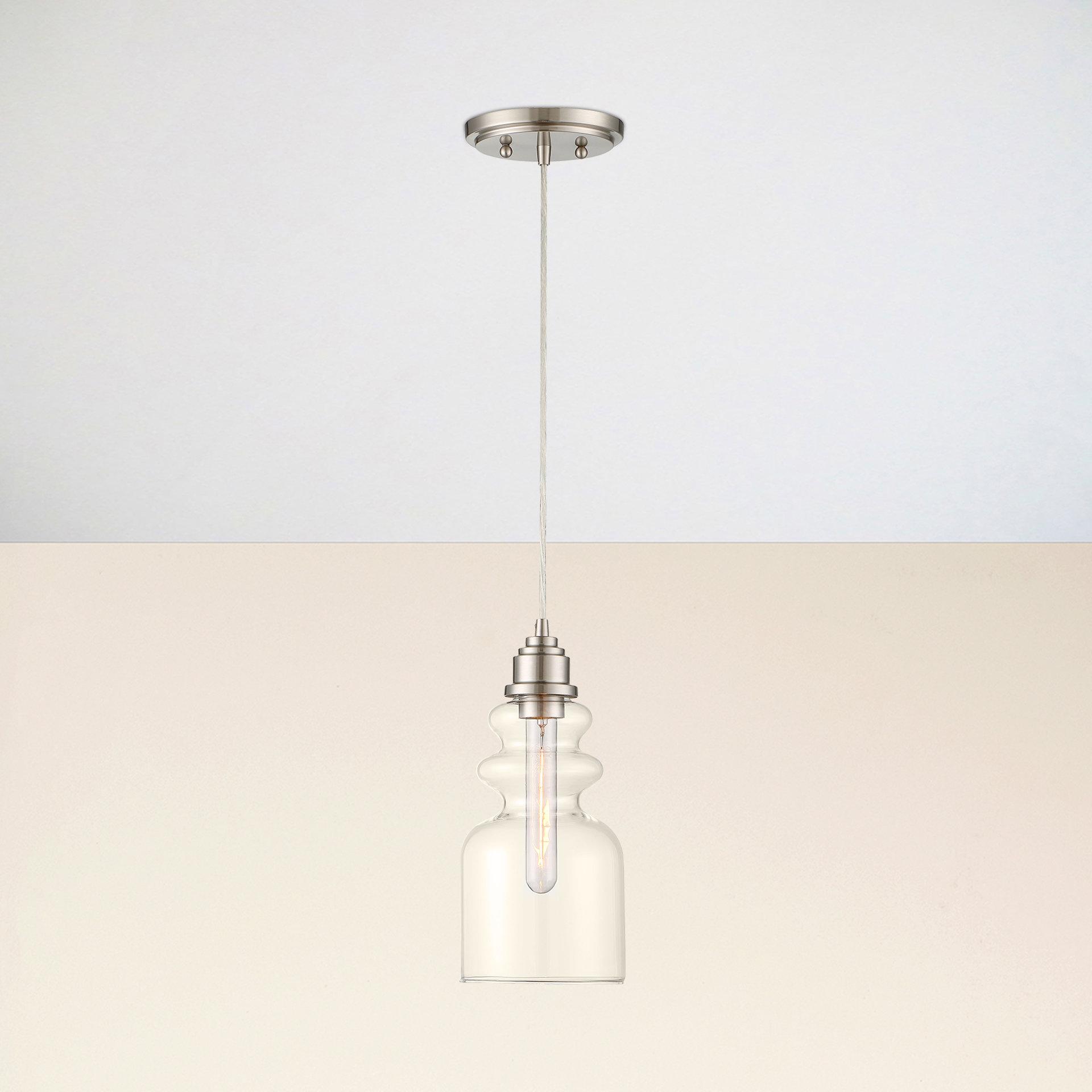 Reade 1 Light Bell Pendant Inside Most Current Wentzville 1 Light Single Bell Pendants (View 9 of 20)