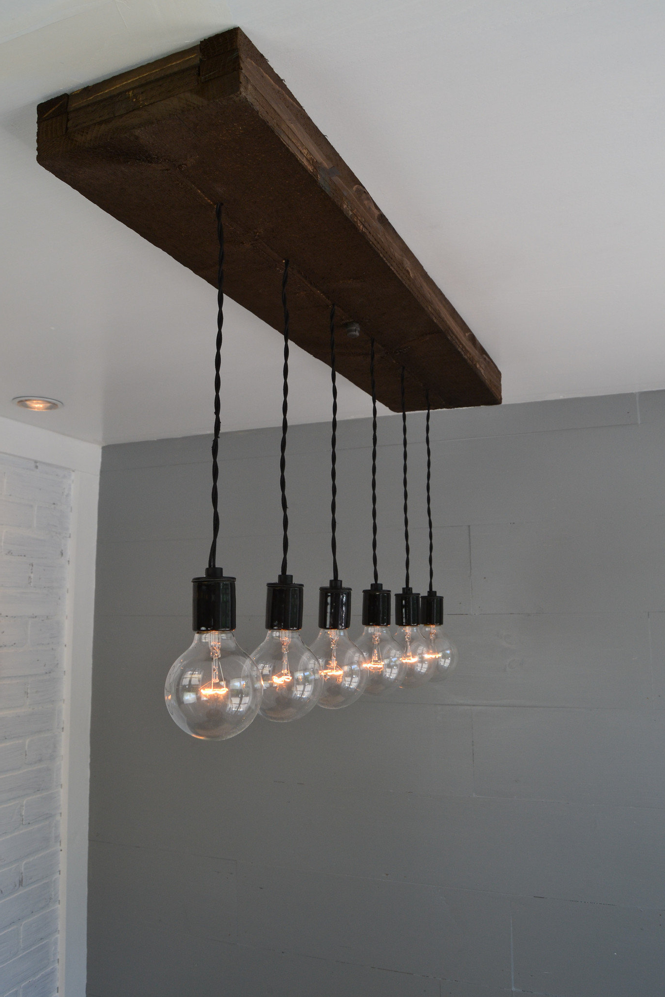 Recent 6 Light Kitchen Island Pendant With Regard To Bautista 6 Light Kitchen Island Bulb Pendants (Gallery 13 of 20)