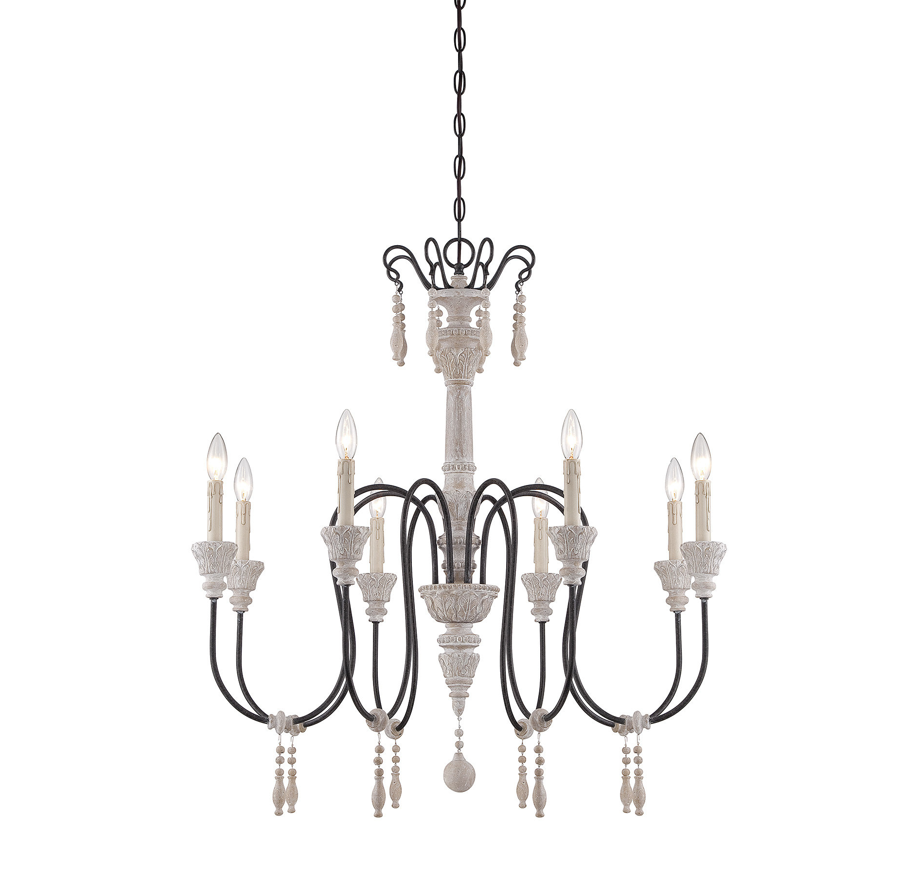 Recent Ailsa 8 Light Candle Style Chandelier Throughout Bouchette Traditional 6 Light Candle Style Chandeliers (View 16 of 20)