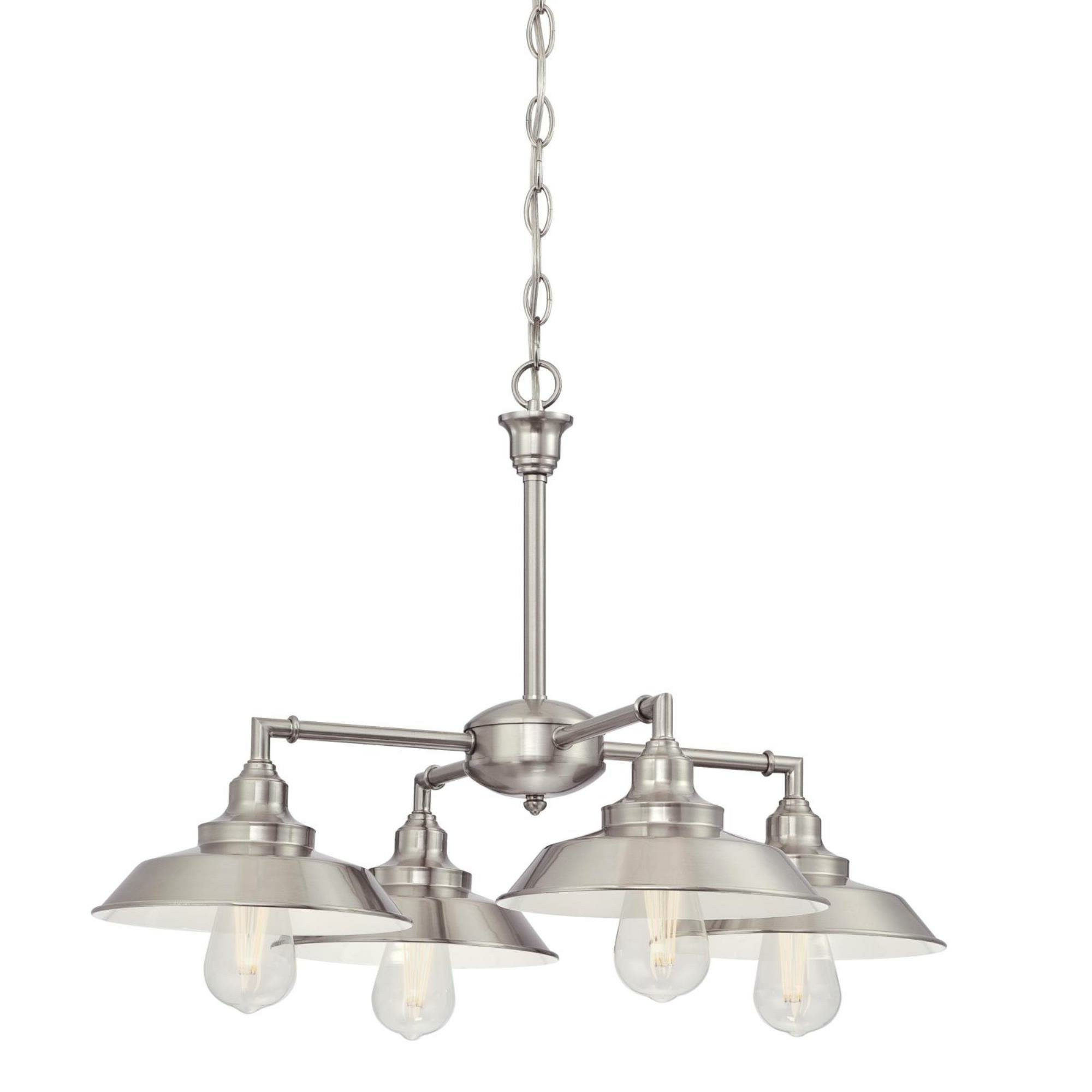 Recent Alayna 4 Light Shaded Chandelier For Alayna 4 Light Shaded Chandeliers (Gallery 1 of 20)