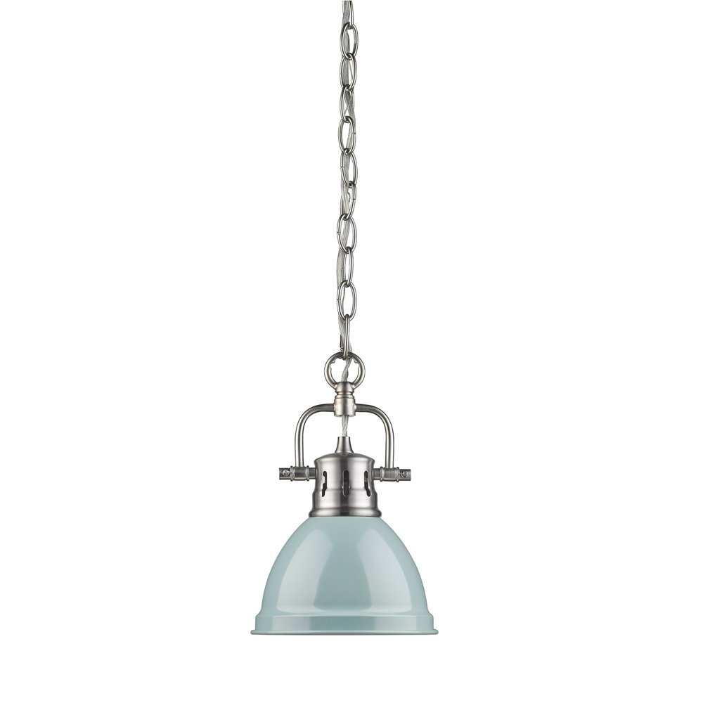 Recent Beachcrest Home Bodalla 1 Light Single Bell Pendant With Bodalla 1 Light Single Bell Pendants (Gallery 18 of 20)