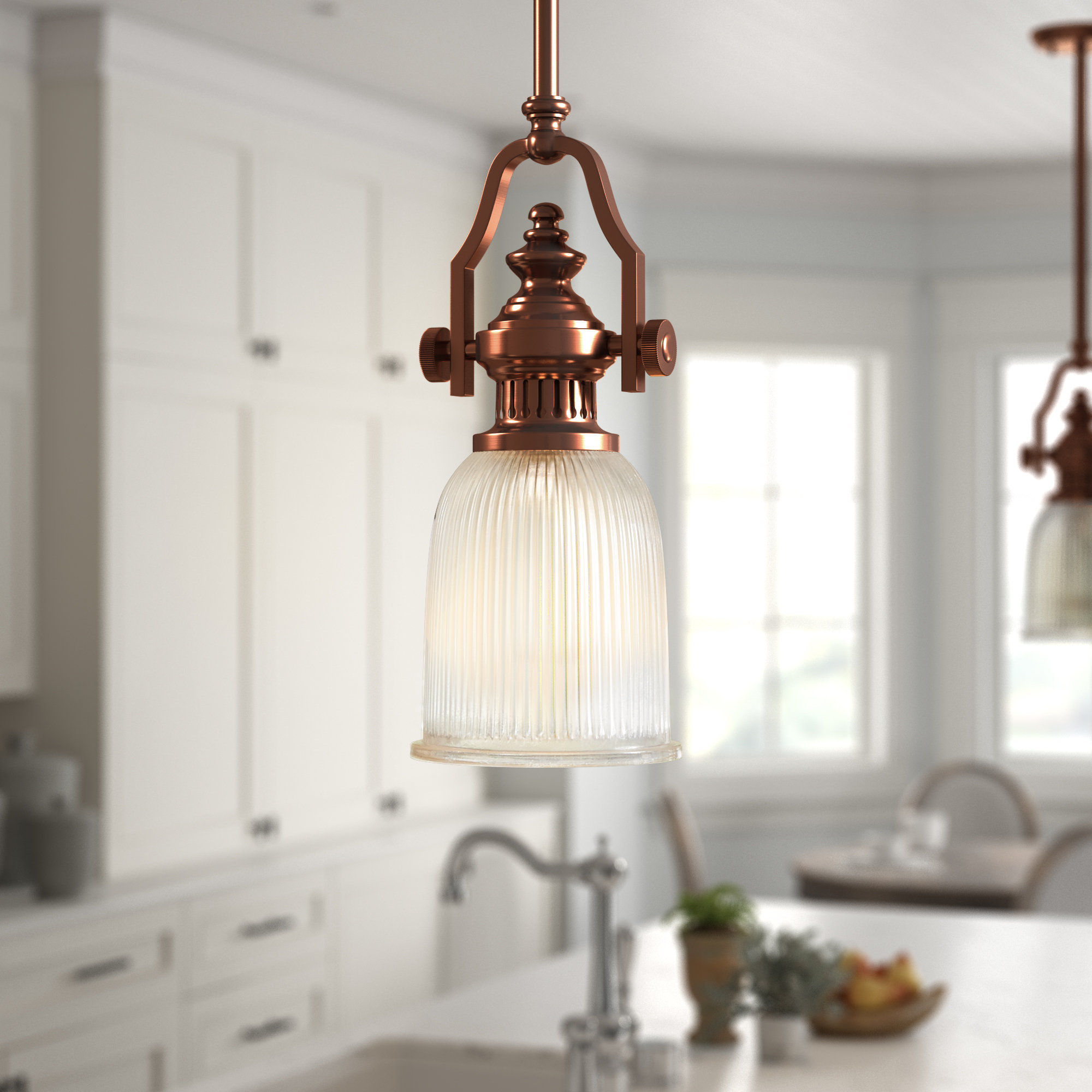 Recent Birch Lane Erico 1 Light Single Bell Pendant & Reviews Pertaining To Goldie 1 Light Single Bell Pendants (View 10 of 20)
