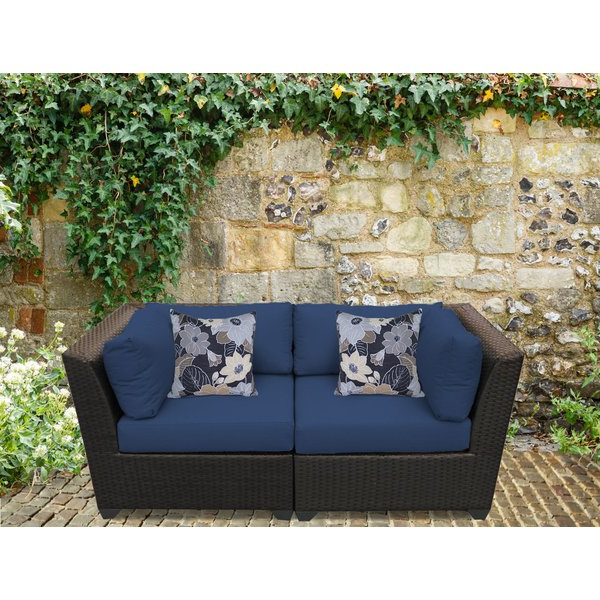 Recent Camak Loveseat With Cushions In Camak Patio Loveseats With Cushions (View 7 of 20)