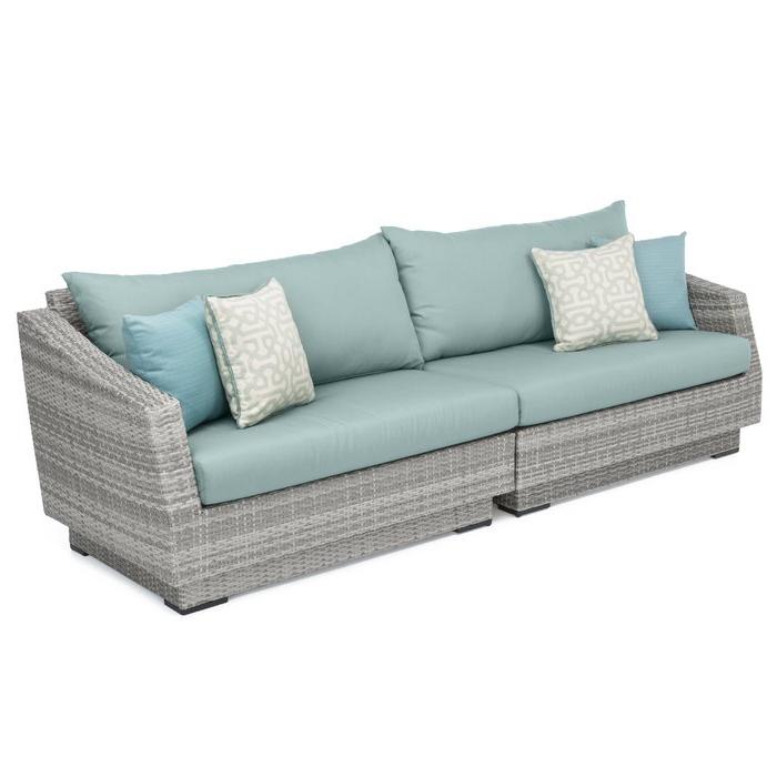 Recent Castelli Patio Sofa With Sunbrella Cushions With Regard To Castelli Patio Sofas With Sunbrella Cushions (Gallery 2 of 20)