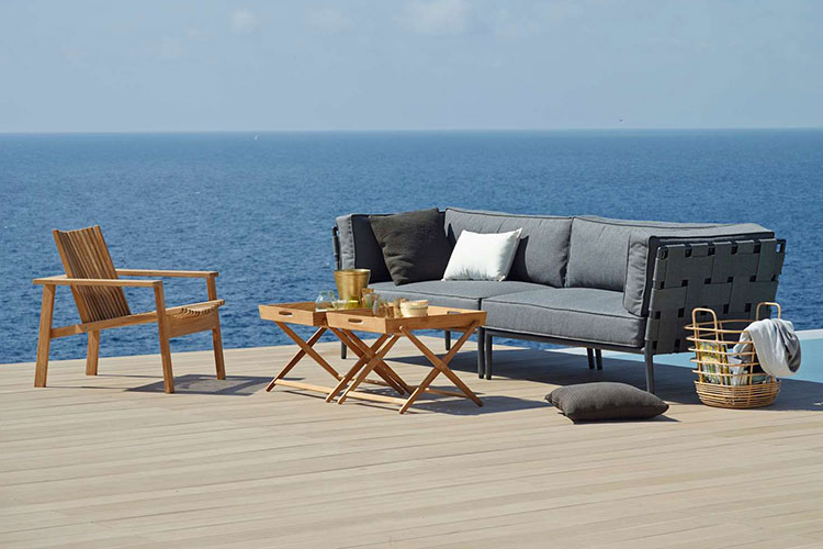 Recent Conic Sectional Sofa – Property Furniture Within Lorentzen Patio Sectionals With Cushions (Gallery 20 of 20)