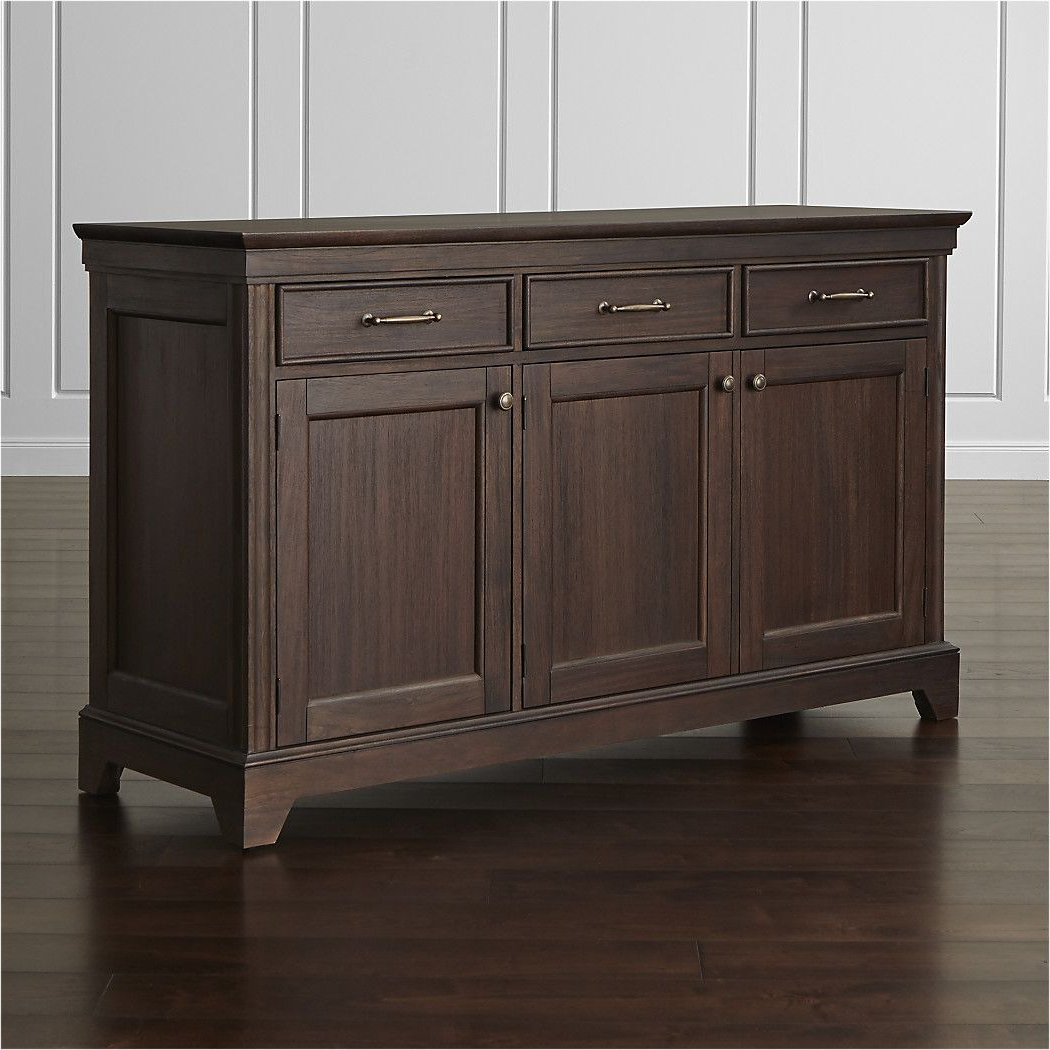 Recent Courtdale Sideboards Pertaining To Shop Winnetka Dark Mahogany Buffet. Designer Blake Tovin's (Gallery 9 of 20)