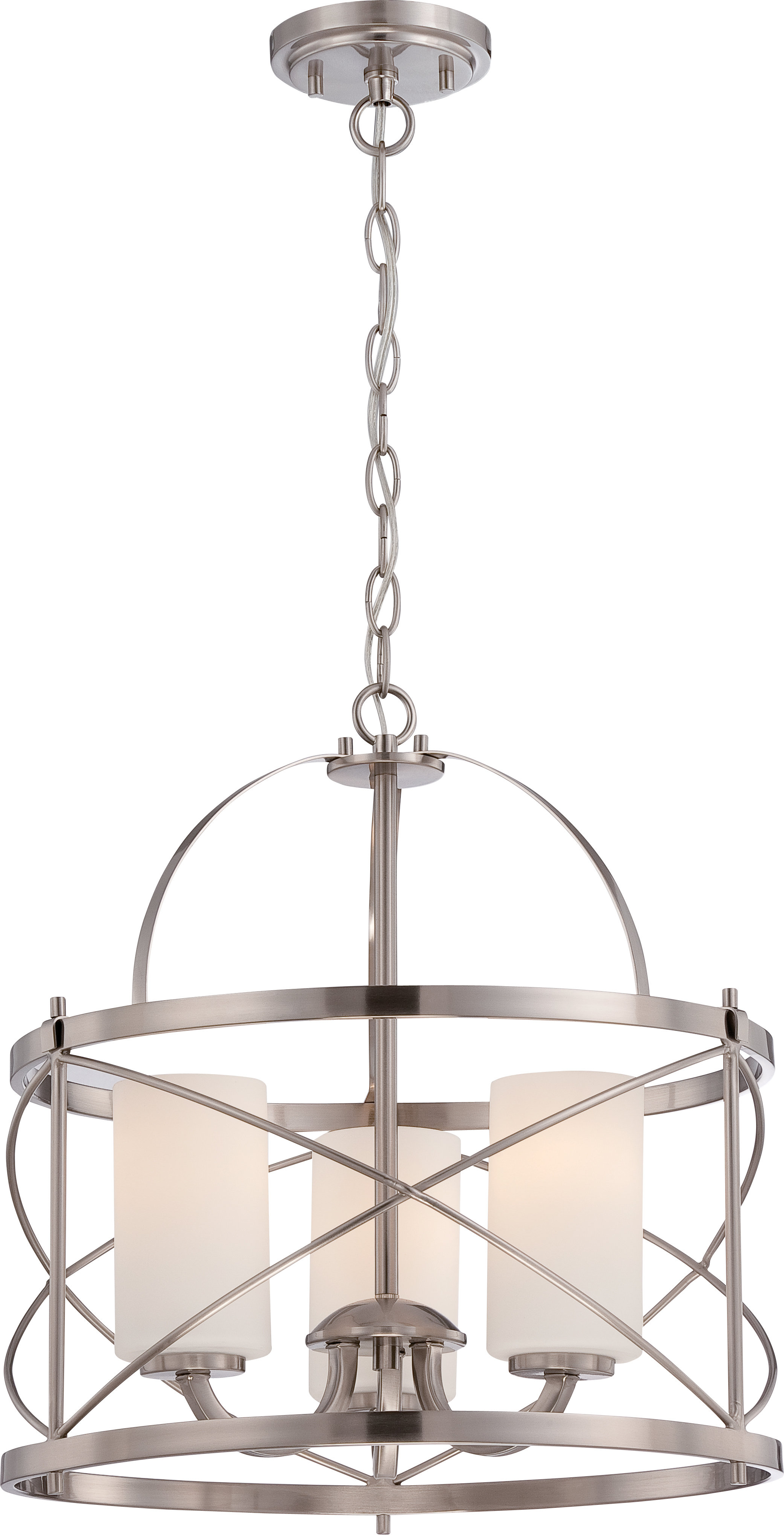 Recent Darby Home Co Farrier 3 Light Lantern Drum Pendant & Reviews Pertaining To Farrier 3 Light Lantern Drum Pendants (View 19 of 20)