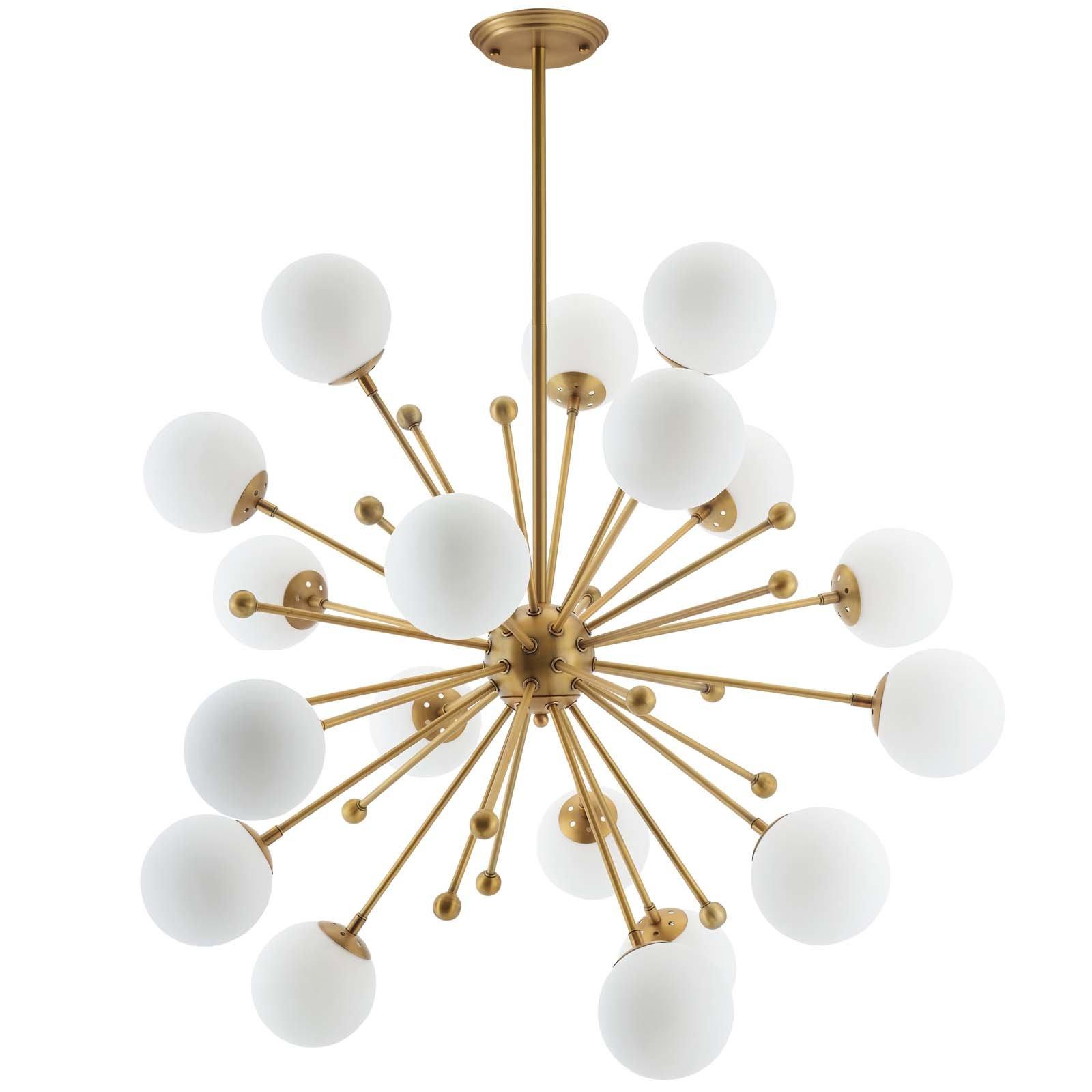 Recent Defreitas 18 Light Sputnik Chandeliers For Bomar 18 Light Sputnik Chandelier (View 9 of 20)