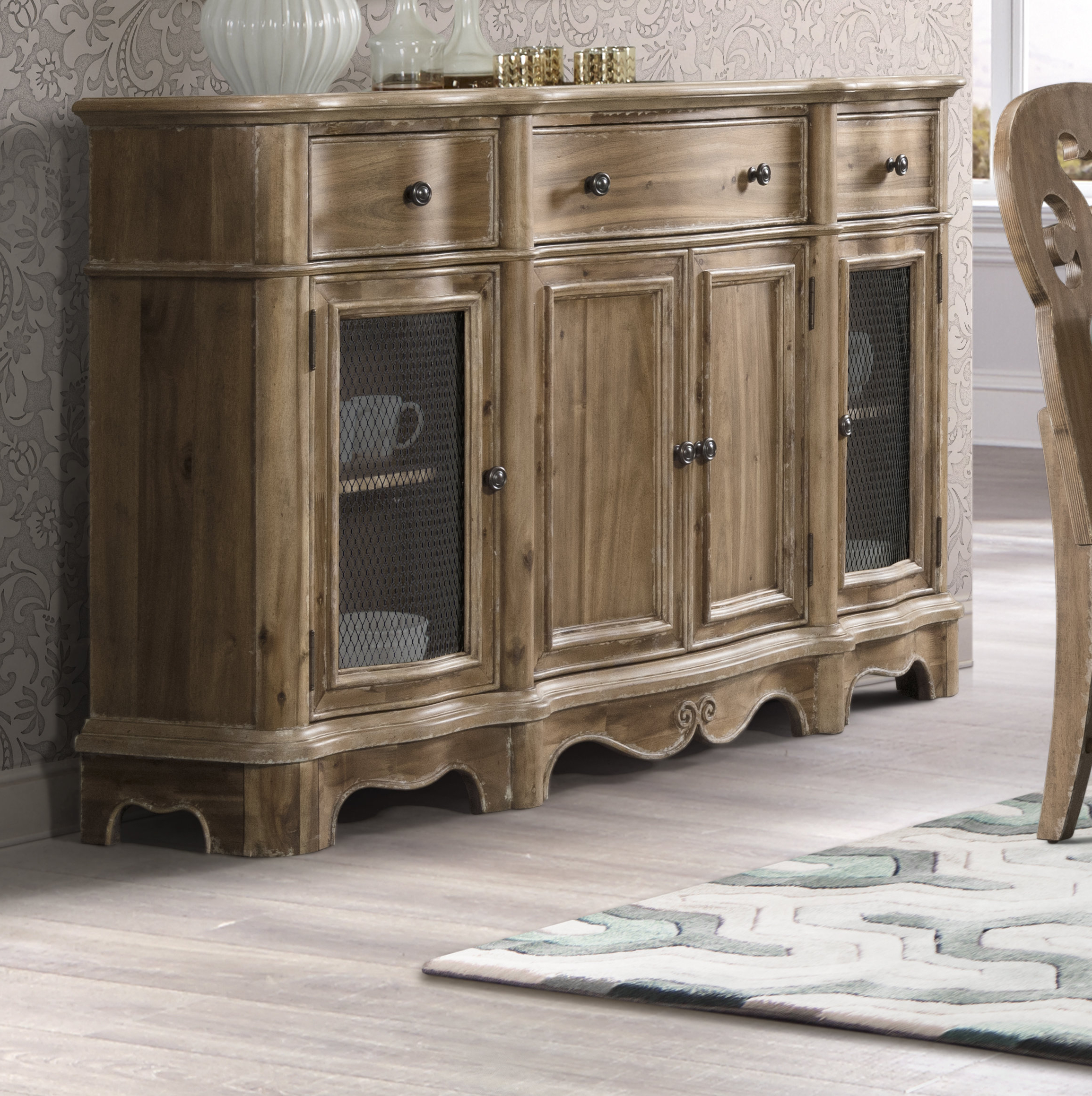Recent Elena Sideboard Pertaining To Chalus Sideboards (View 19 of 20)