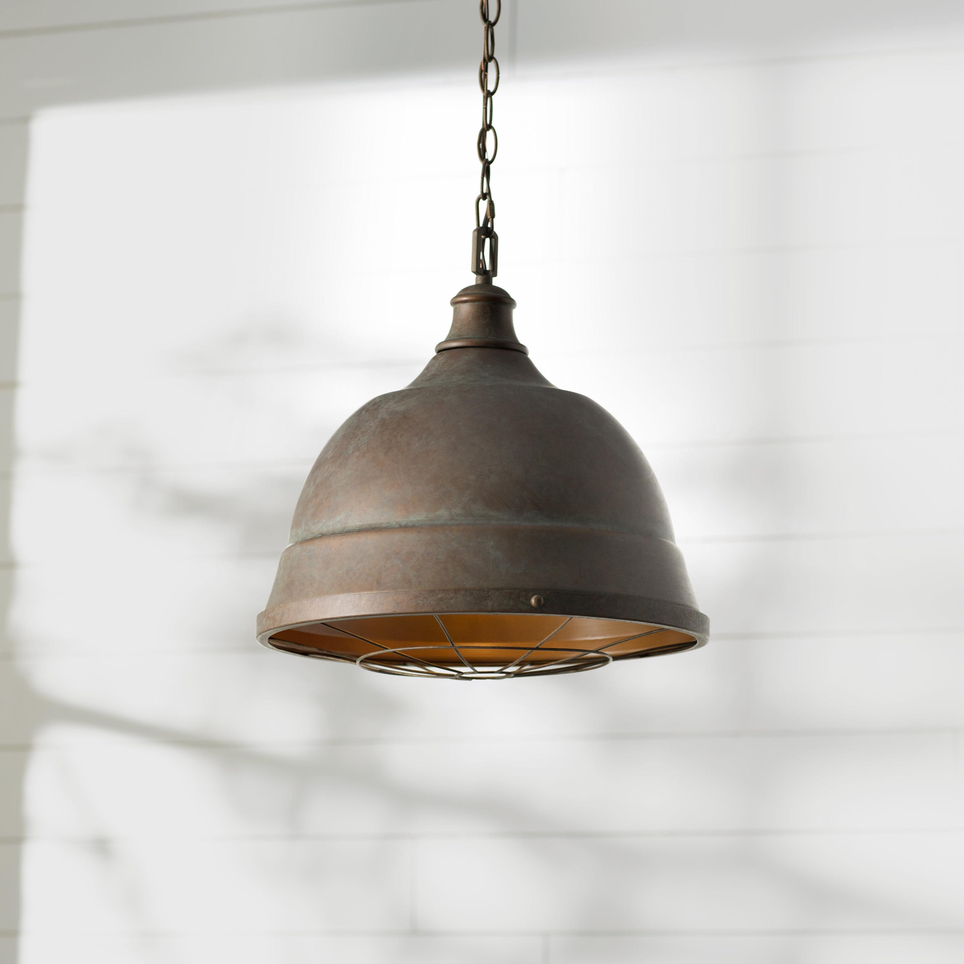 Recent Elinna 2 Light Single Bell Pendant Regarding Proctor 1 Light Bowl Pendants (Gallery 13 of 20)