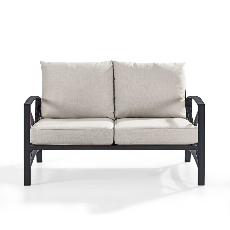 Recent Freitag Loveseat With Cushions Throughout Lyall Loveseats With Cushion (View 18 of 20)