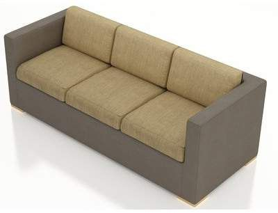 Recent Furst Patio Sofa With Cushion Pertaining To Furst Patio Sofas With Cushion (View 16 of 20)