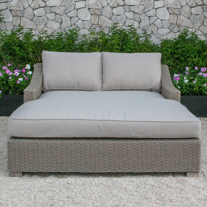 Recent Harlow Patio Daybeds With Cushions With Regard To Naperville Patio Daybed With Cushion (View 19 of 20)