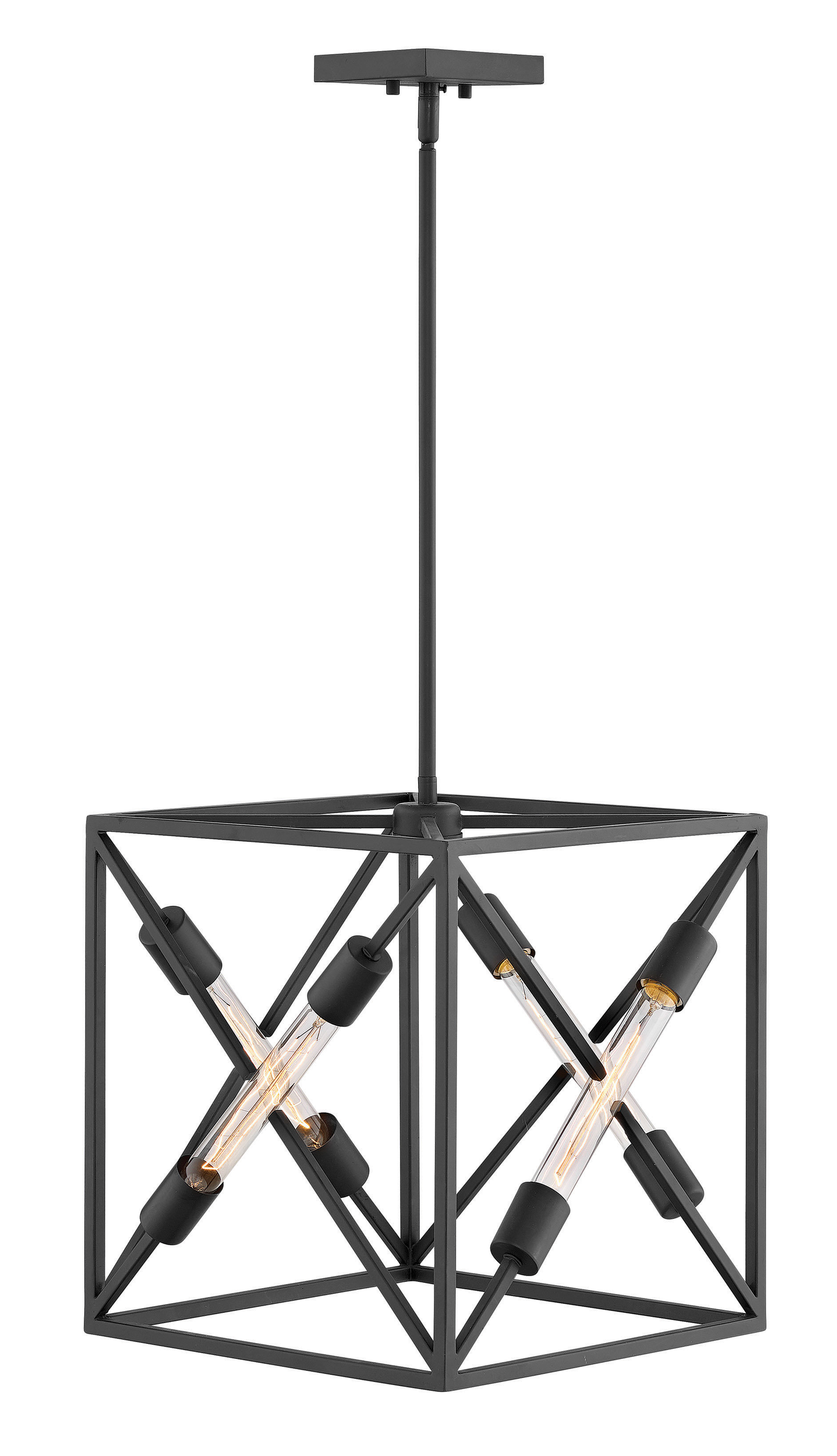 Featured Photo of Hewitt 4 Light Square Chandeliers