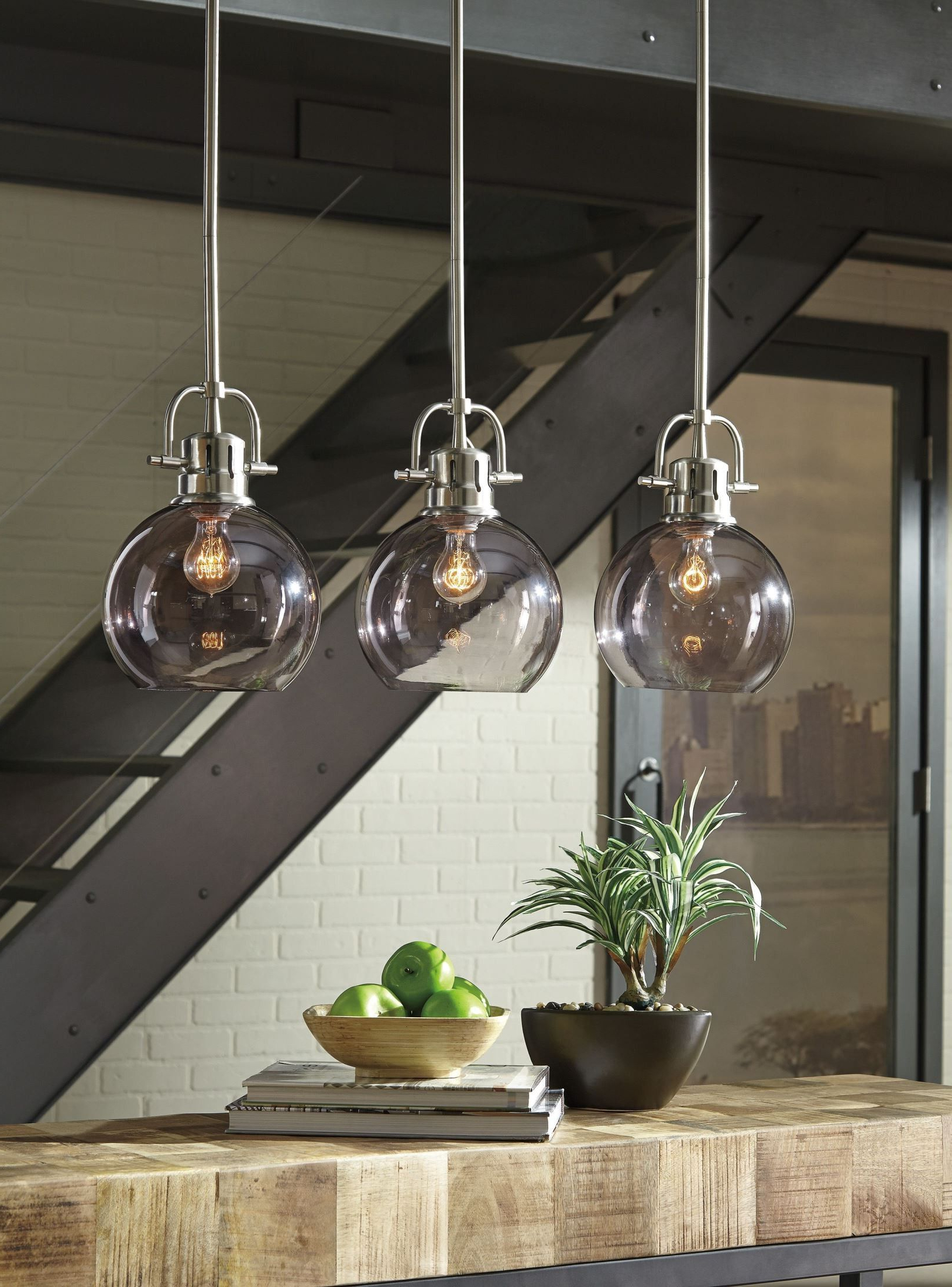 Recent Johano Gray Glass Pendant Light In 2019 (Gallery 16 of 20)