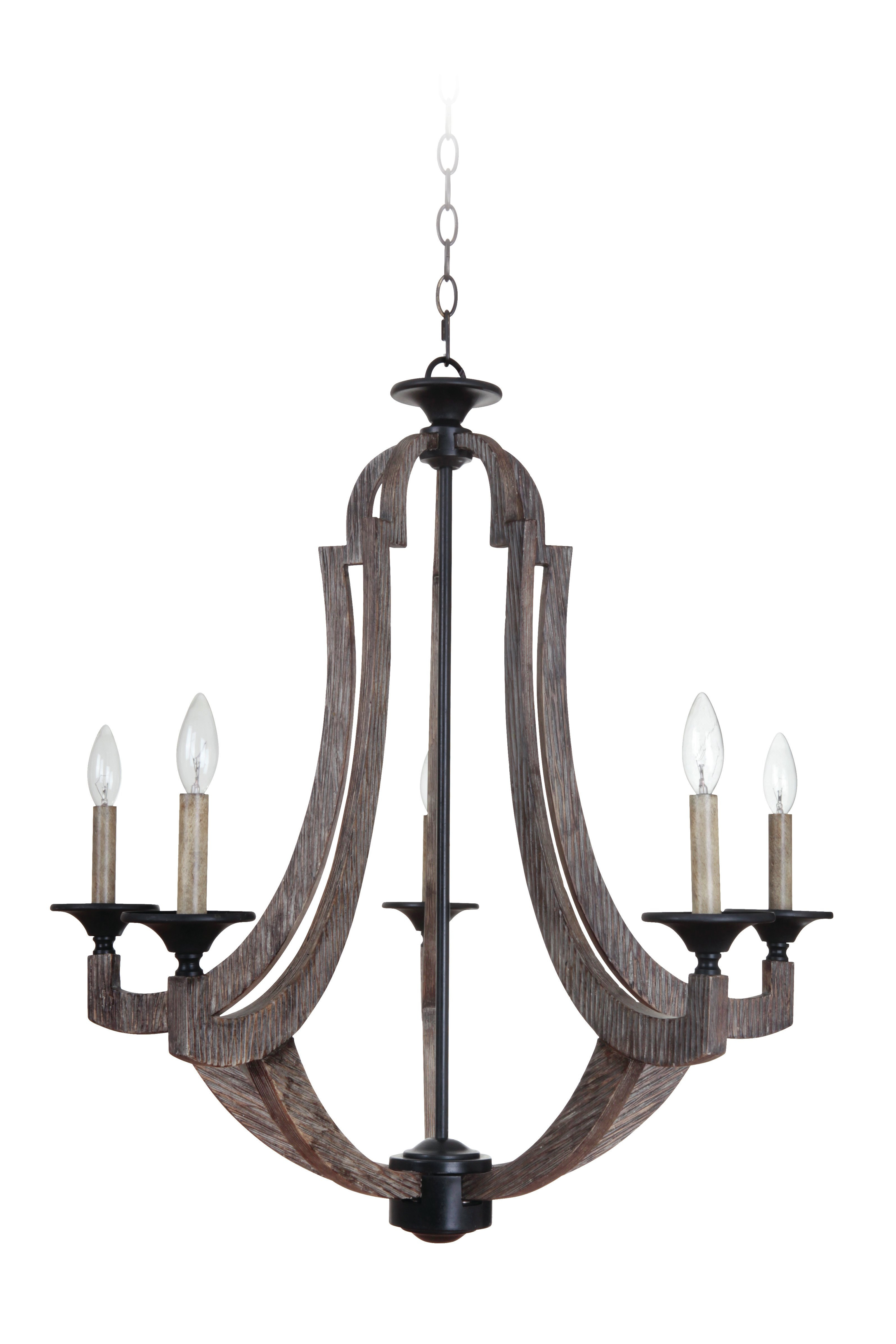 Recent Marcoux 5 Light Empire Chandelier For Kenna 5 Light Empire Chandeliers (Gallery 4 of 20)