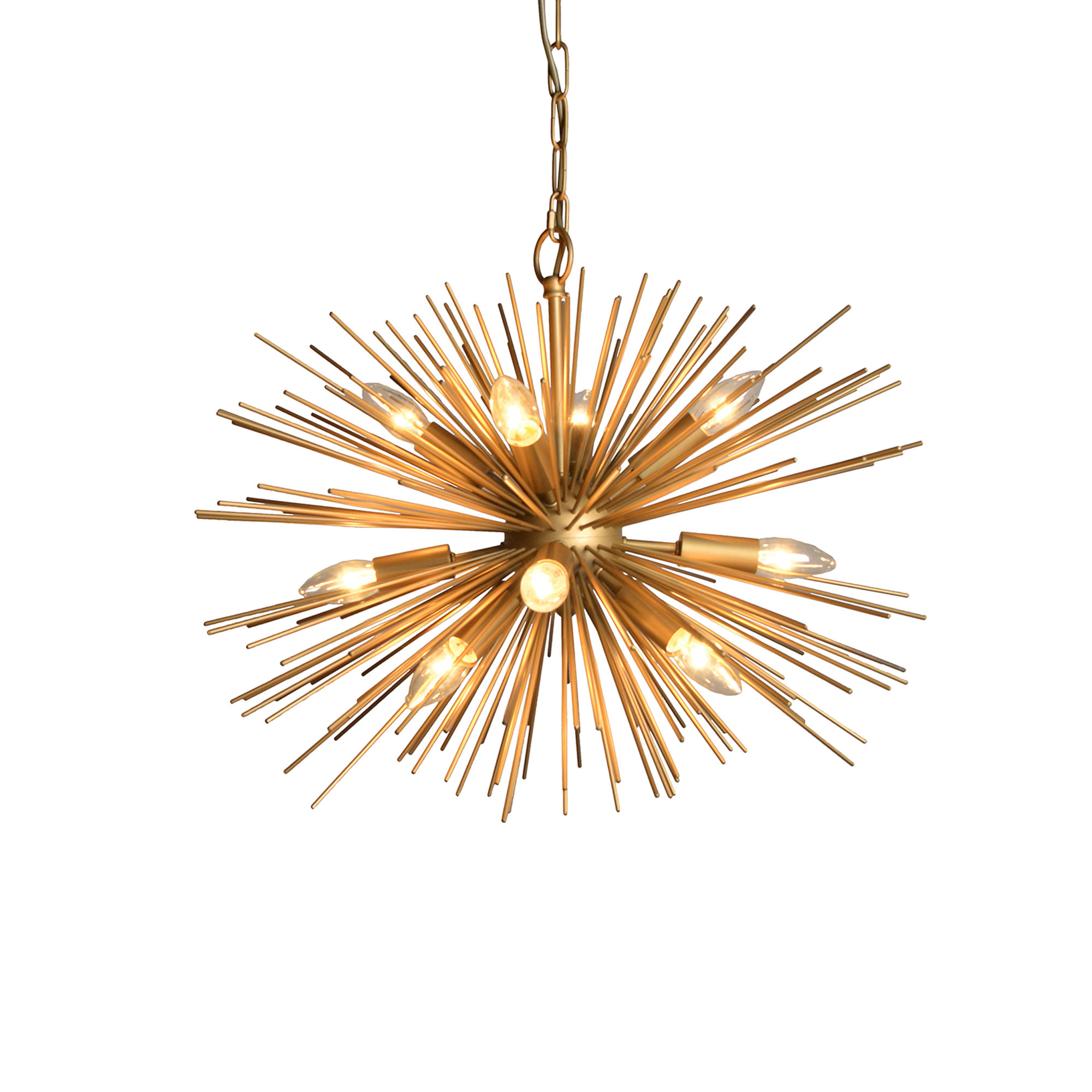 Recent Nelly 12 Light Sputnik Chandeliers For Modern Rustic Interiors Nelly 12 Light Sputnik Chandelier (Gallery 4 of 20)