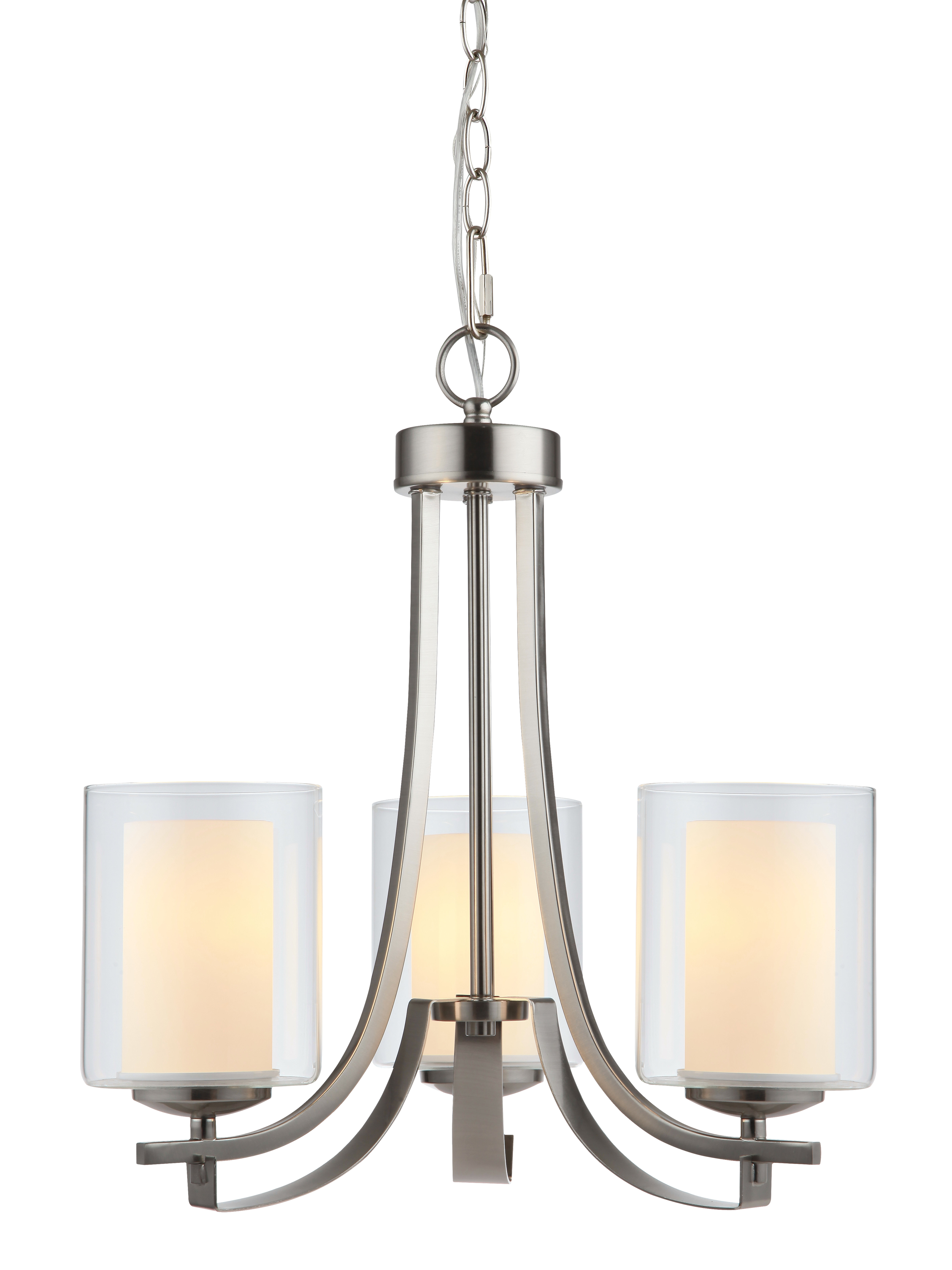 Recent Nettie 3 Light Shaded Chandelier With Regard To Suki 5 Light Shaded Chandeliers (View 10 of 20)